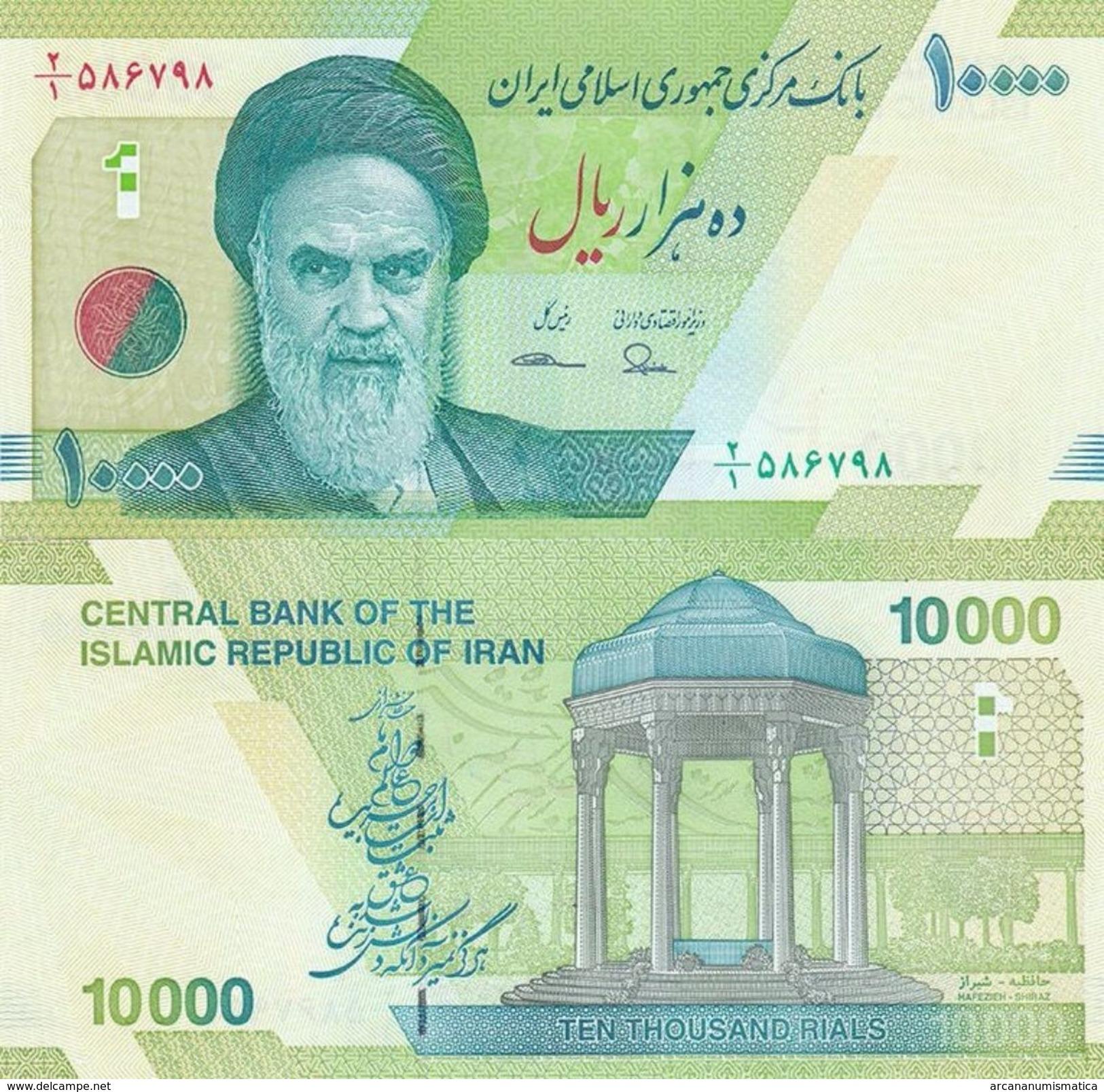 IRAN  10.000 RIALS 2.017 SIGNATURE : 37  SC / UNC / PLANCHA   T-DL-12.158 - Irán