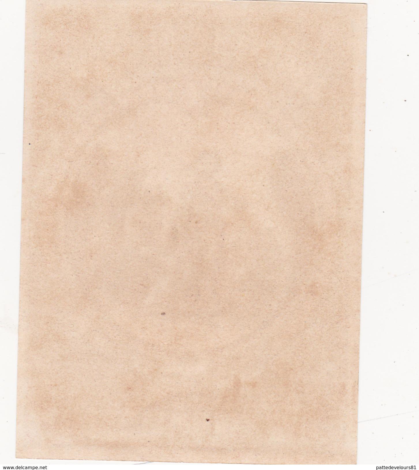 Etiquette Originale Ancienne 9,5 X 12,5 Absinthe BERGER Marque Guillaume TELL Déposé (2 Scans) - Alcools