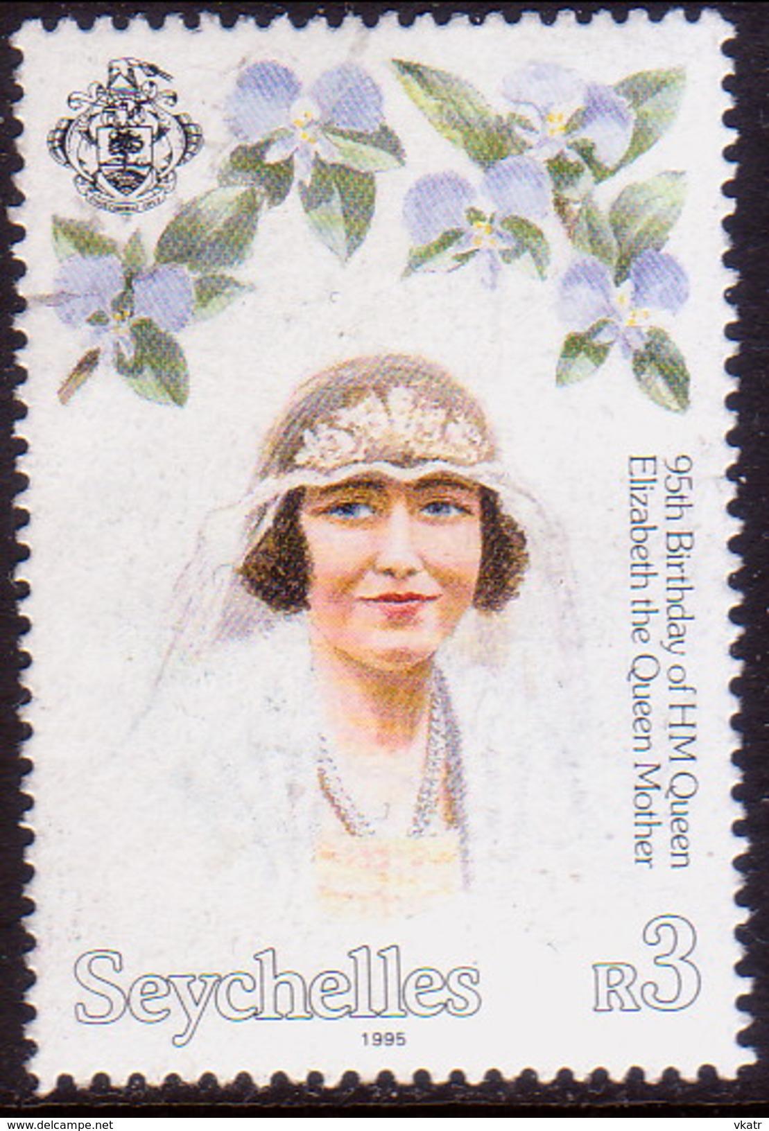 SEYCHELLES 1995 SG #853 3r Queen Mother - Seychelles (1976-...)