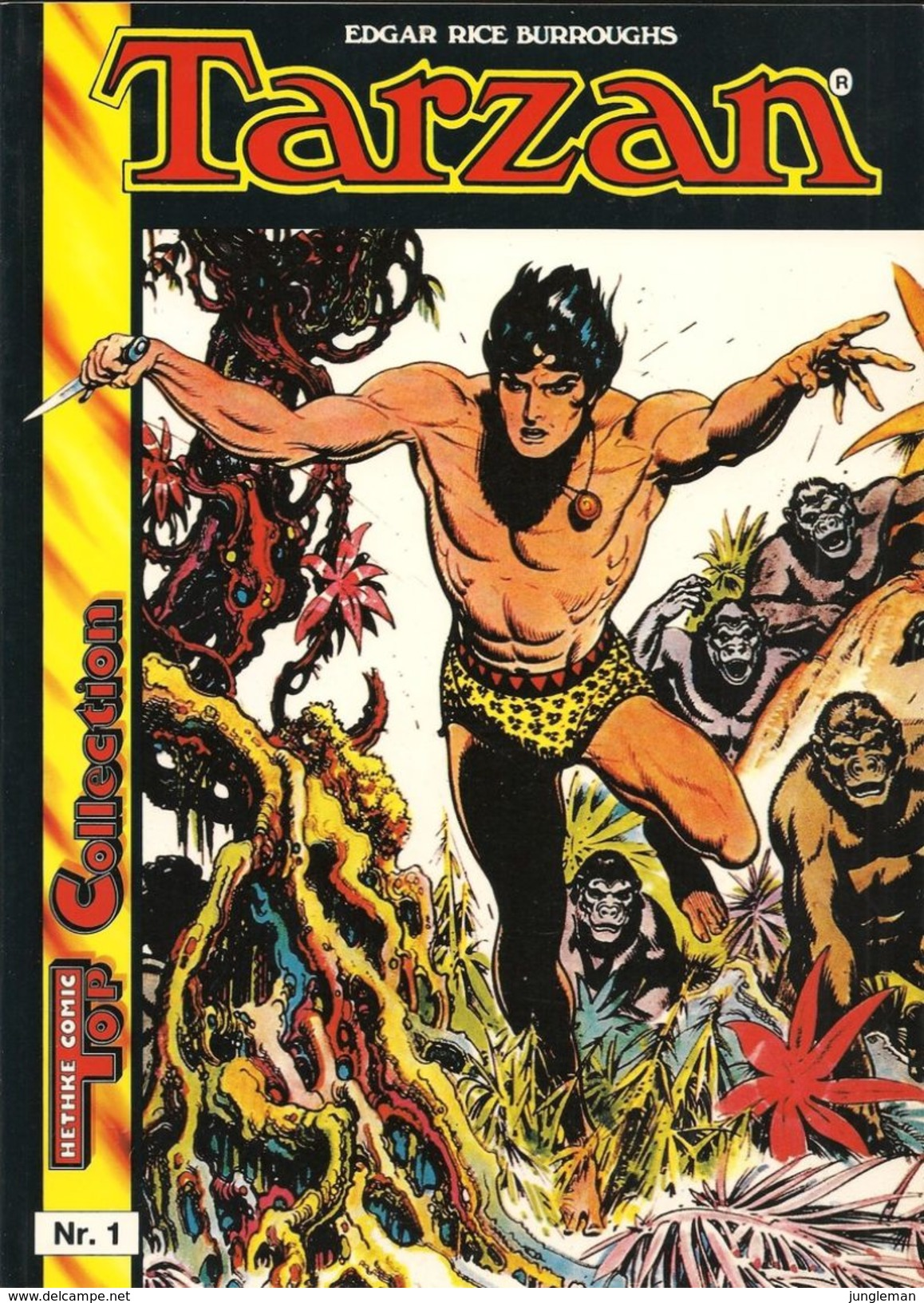 Tarzan N° 1 - Norbert Hethke Verlag - Top Collection - En Allemand - Burne Hogarth - TBE / Neuf. - Livres, BD, Revues