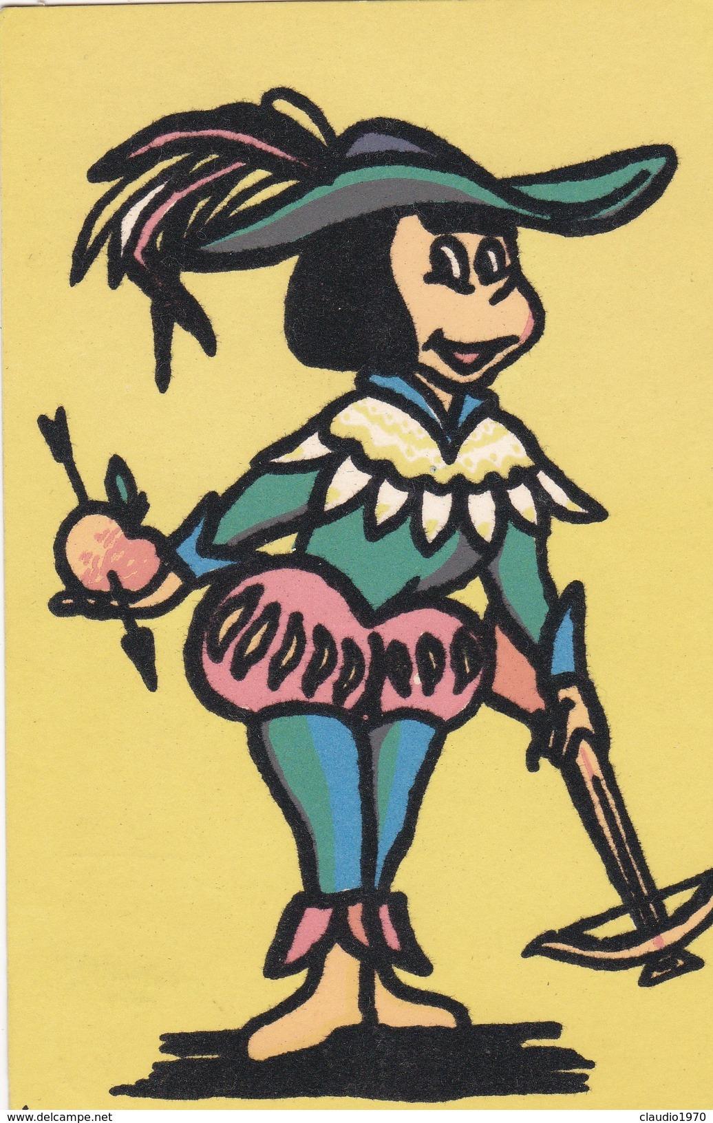 CARTOLINA - POSTCARD - TEMATICA - IN VELLUTO - Cartoline