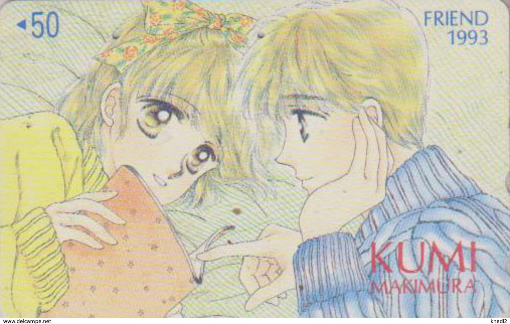Télécarte Japon / 110-011 - MANGA - FRIEND By KUMI MAKIMURA * 1993 * - ANIME Japan Phonecard - BD COMICS TK - 9656 - BD