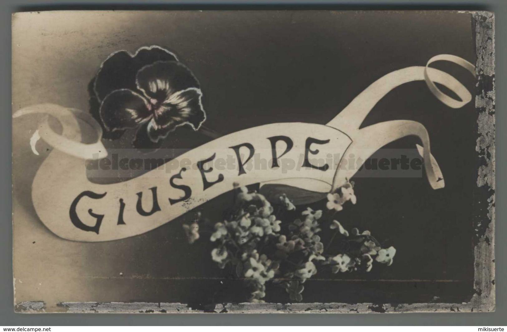 V307 NOME GIUSEPPE NAME DISCRETA FP (m) - Nomi