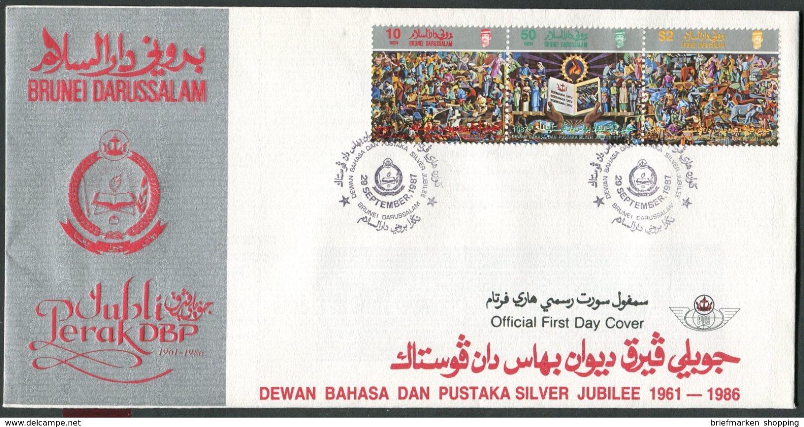 Brunei - Michel 362-364 - FDC - Brunei (1984-...)