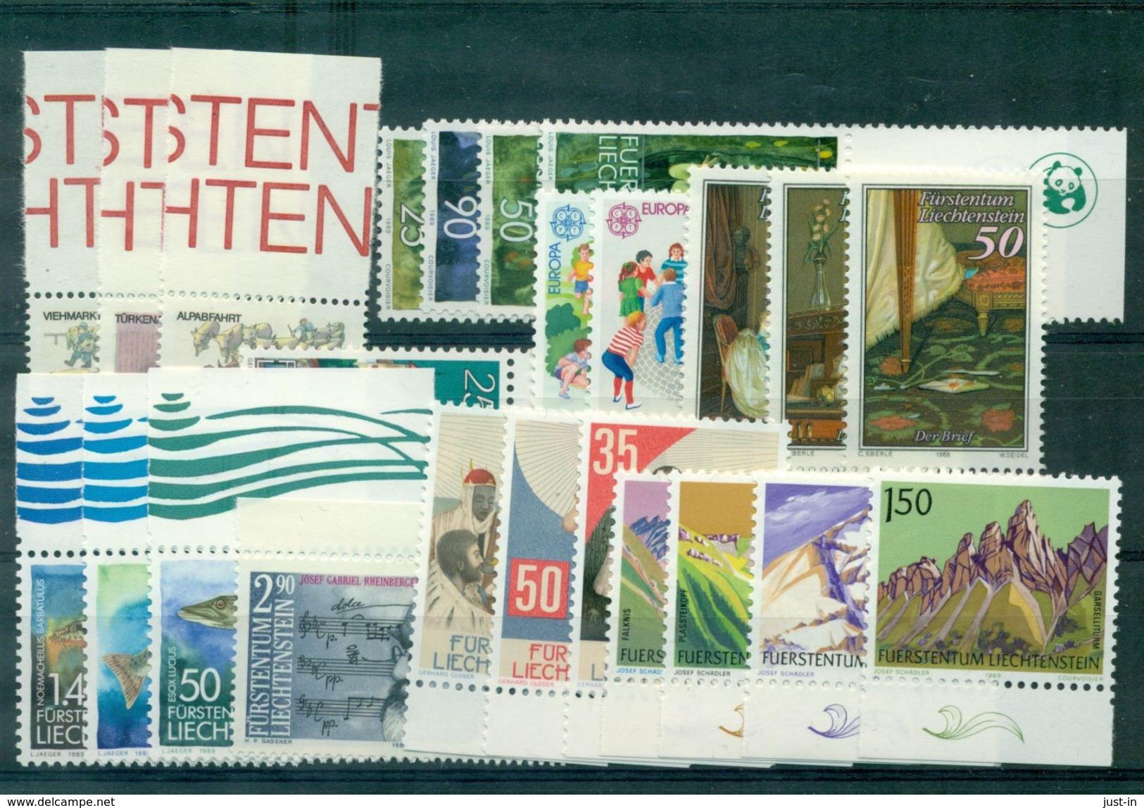 LIECHTENSTEIN . N+895 / 918 N Xx Complet Tb.cote + De 36 € . - Collections