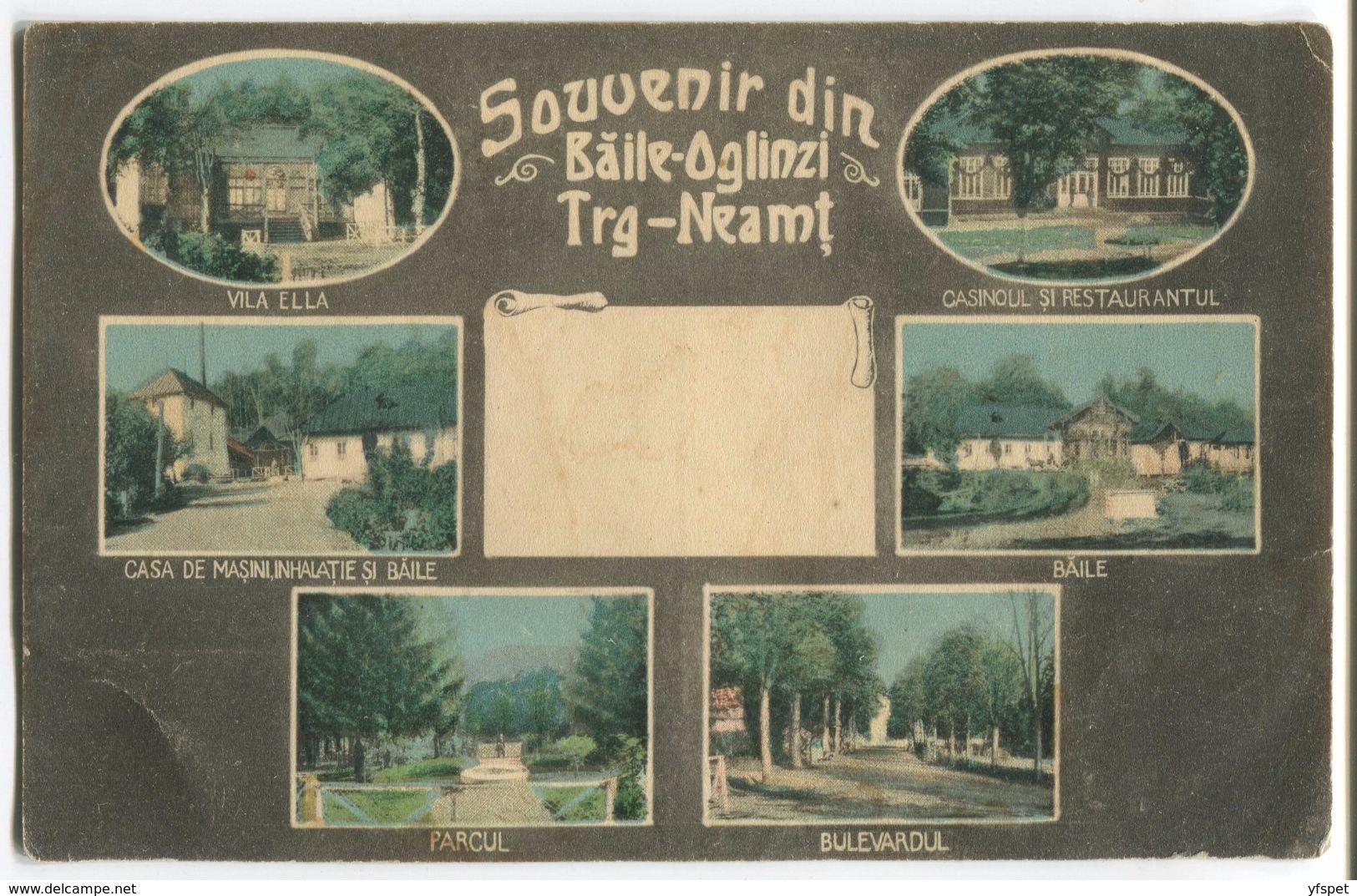 Souvenir From Oglinzi Spa, Tg. Neamt - Romania