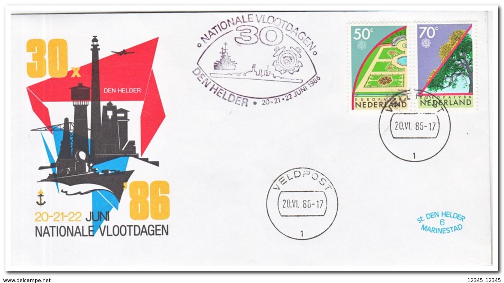 Nederland 1986, National Fleet Days Den Helder - Maritime