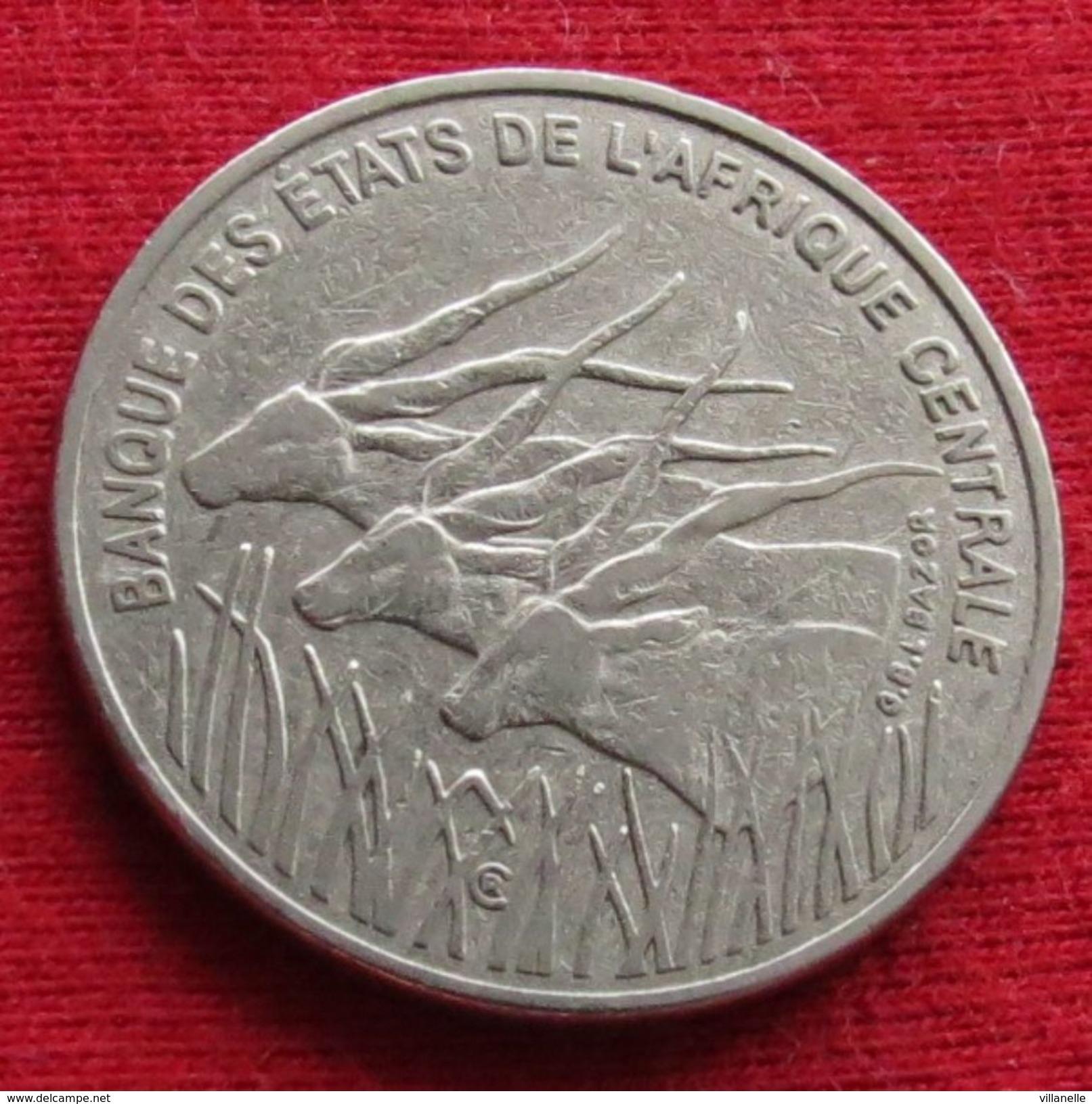Central African States 100 Francs 1998 KM# 13 Lt 326 Africa Afrika Afrique - Monnaies