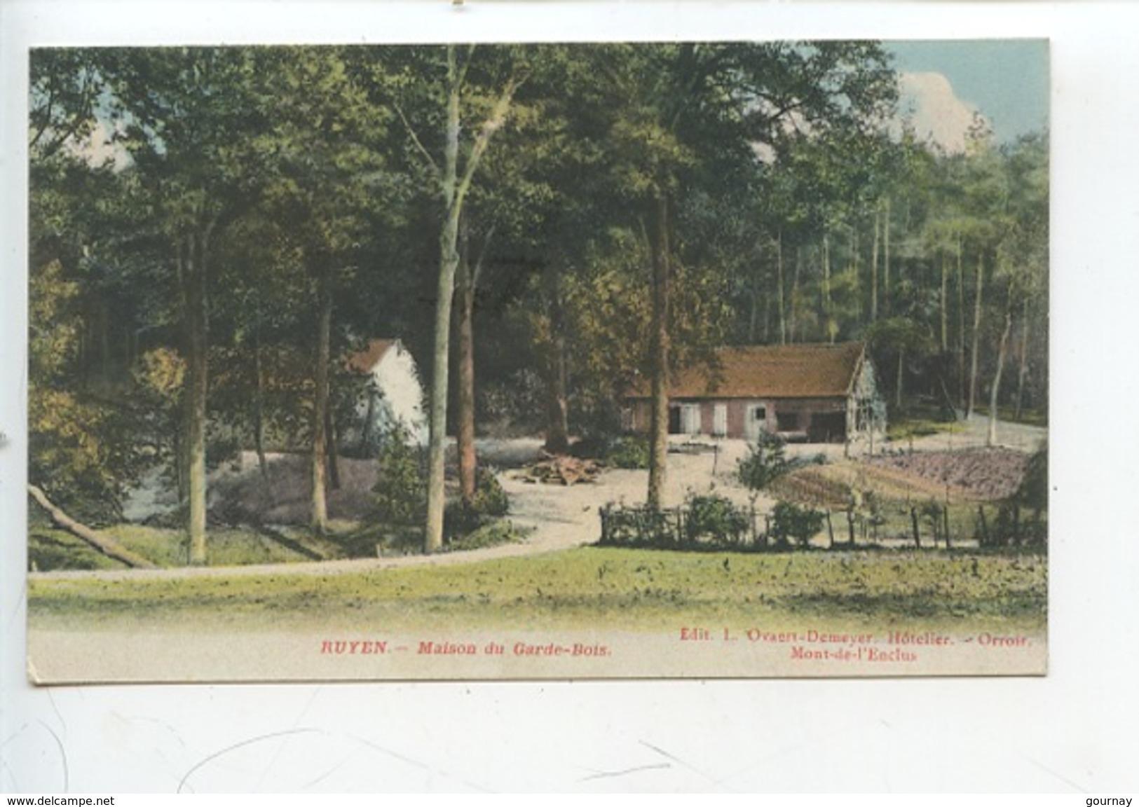 Belgique - Ruyen - Maison Du Garde Bois - Mont-de-l'Enclus