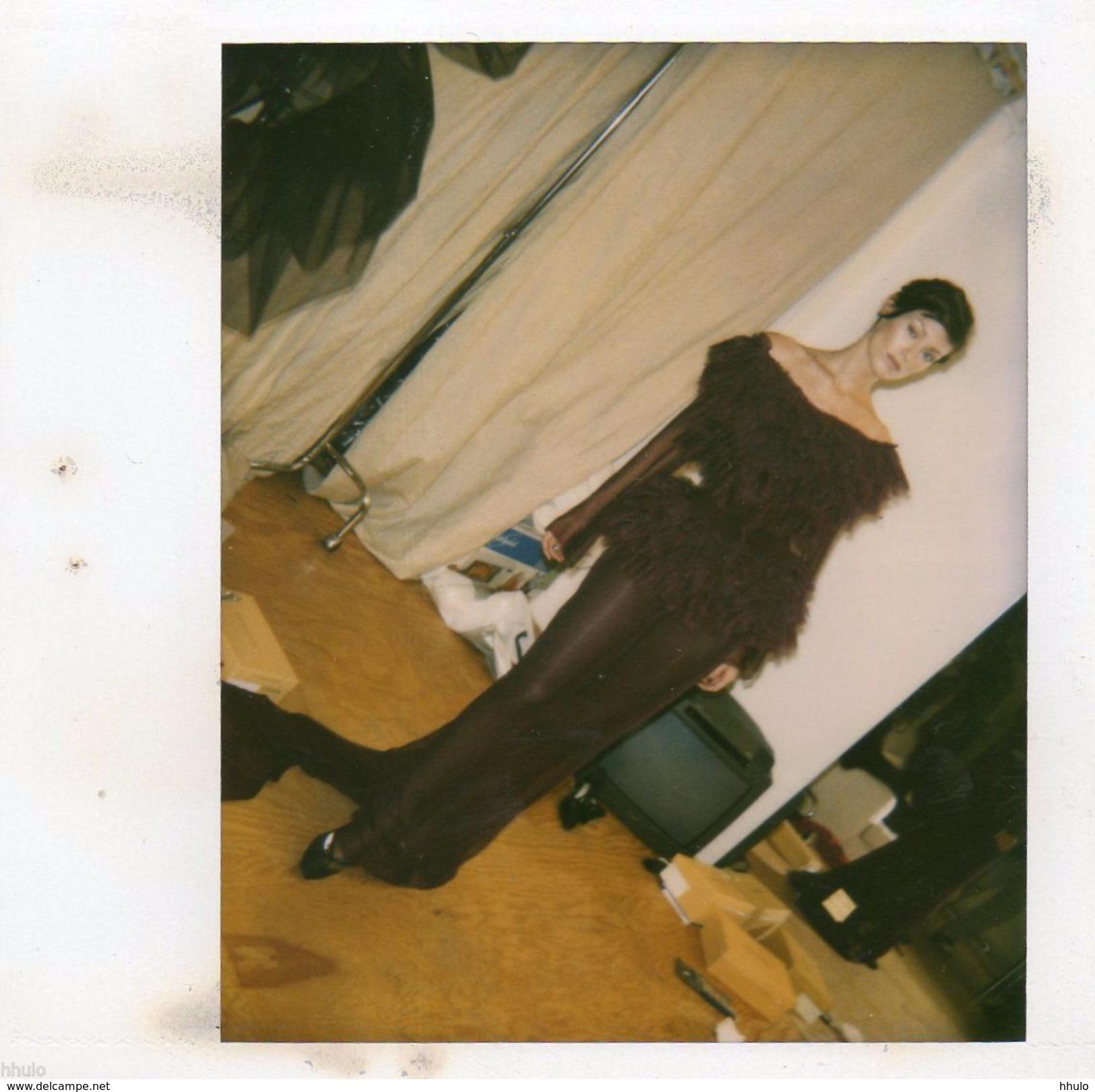 POL126 Polaroid Photo Vintage Original Mode Fashion Mannequin Model Femme Woman - Altri