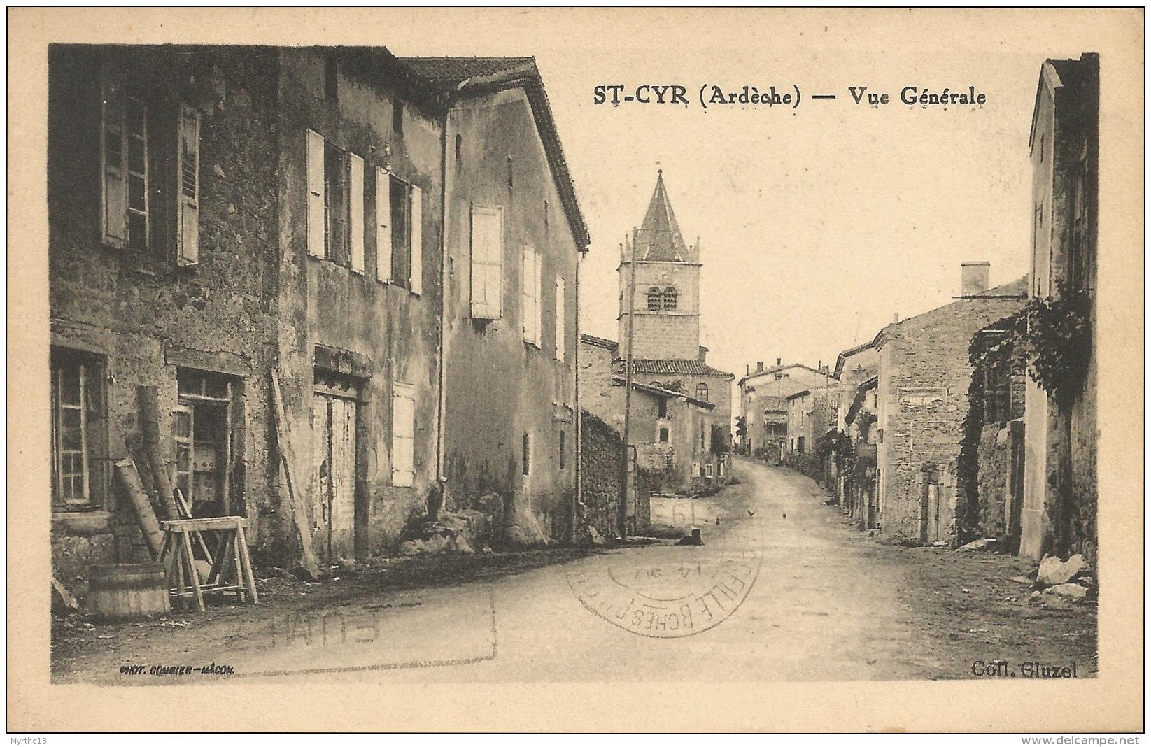 07   ST CYR  Vue Générale - France