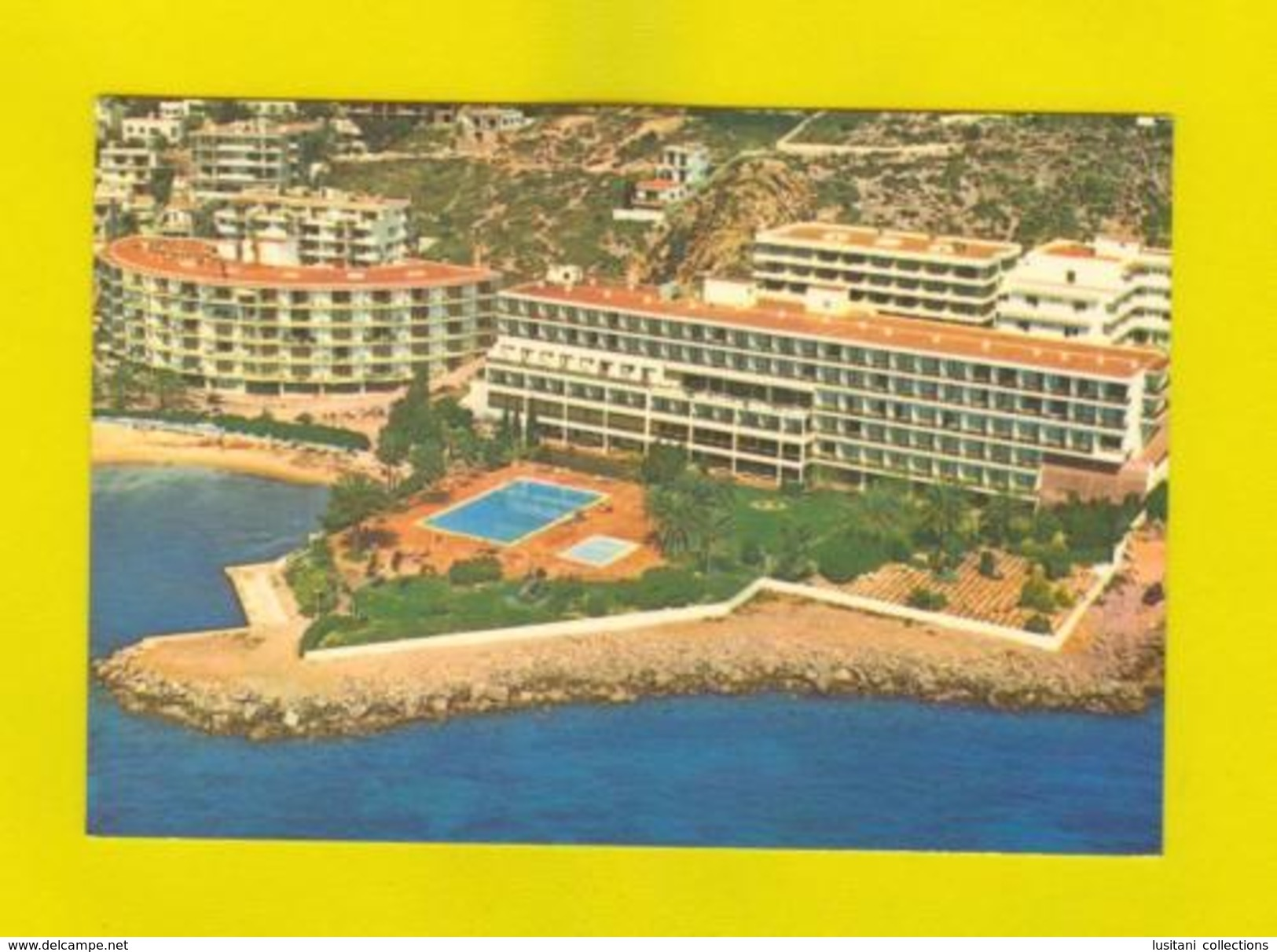 IBIZA Postcard 1970 Years HOTEL HOTELS SPAIN ESPAÑA - Postcards