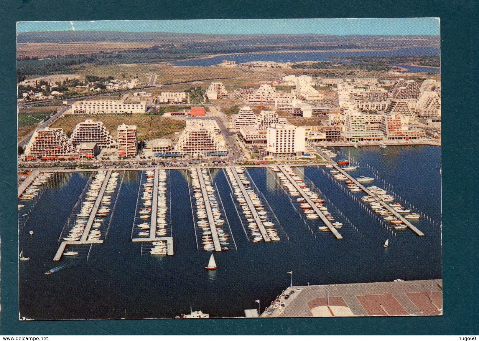 LA GRANDE MOTTE - Vue Aérienne Sur La Nouvelle Station Balnéaire Et Son Grand Port De Plaisance - Non Classés