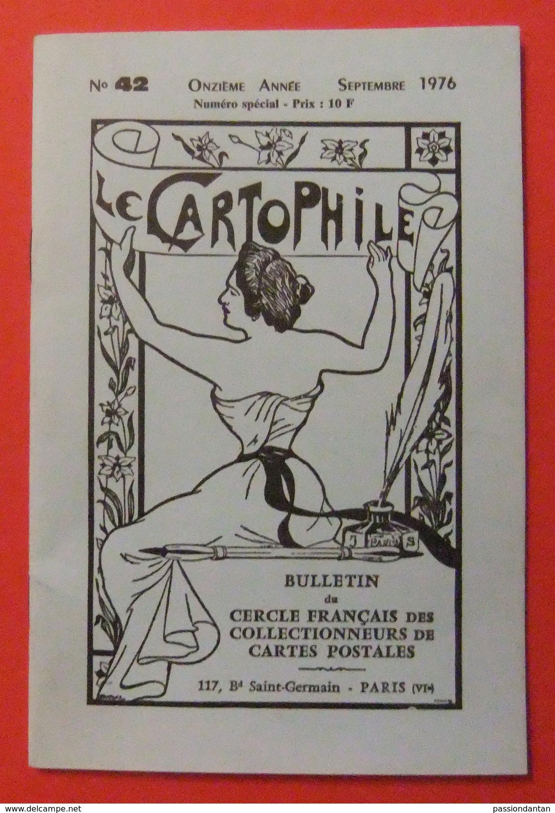 Revue Le Cartophile - N° 42 - Septembre 1976 - Books