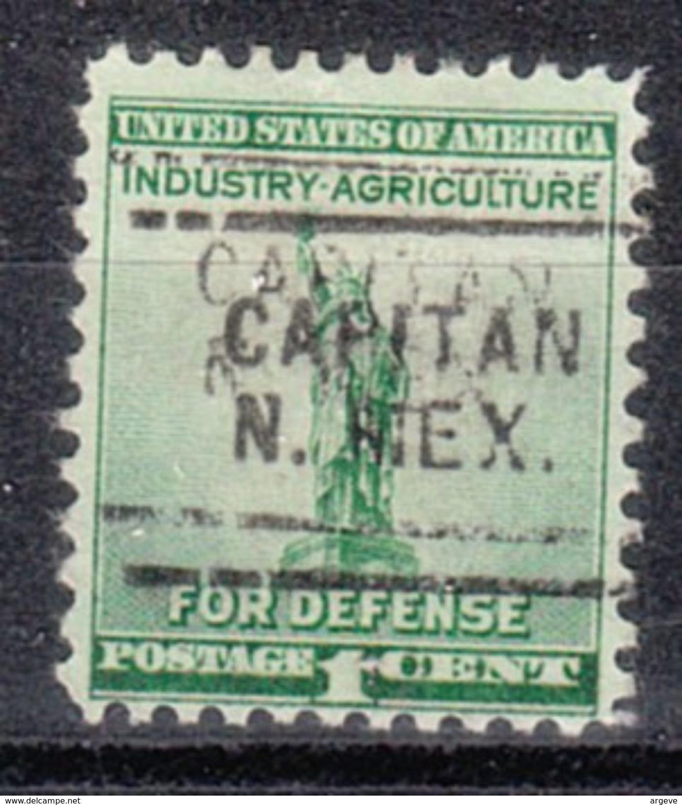 USA Precancel Vorausentwertungen Preo, Locals New Mexico, Capitain 703 - Vorausentwertungen
