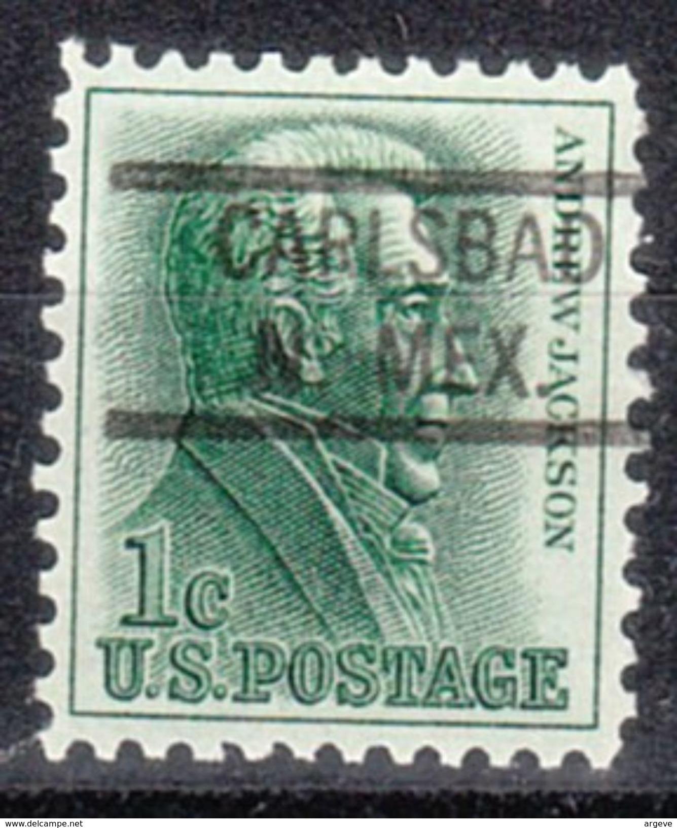 USA Precancel Vorausentwertungen Preo, Locals New Mexico, Carlsbad 821 - Vereinigte Staaten