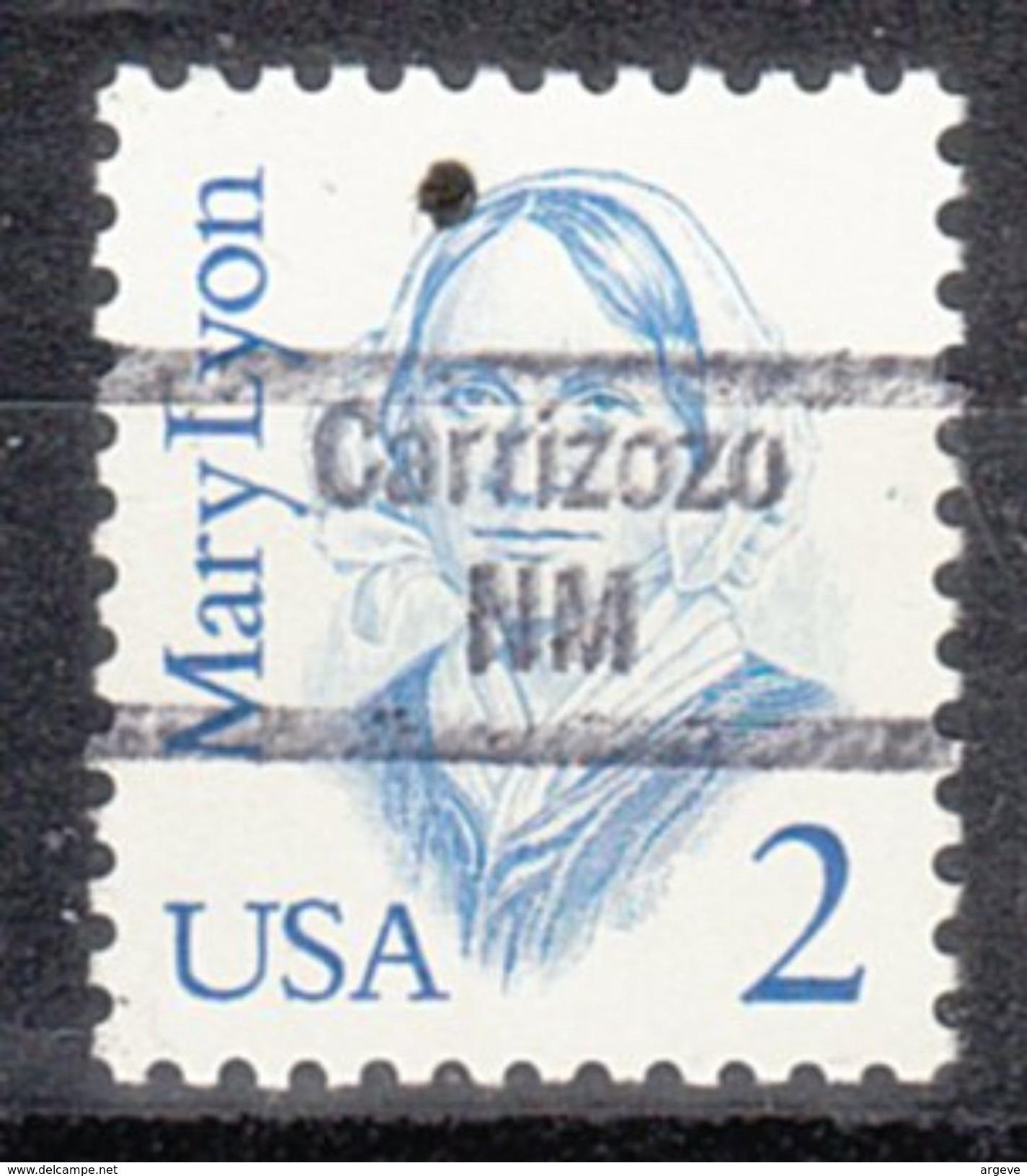USA Precancel Vorausentwertungen Preo, Locals New Mexico, Carrizozo 843 - Vereinigte Staaten