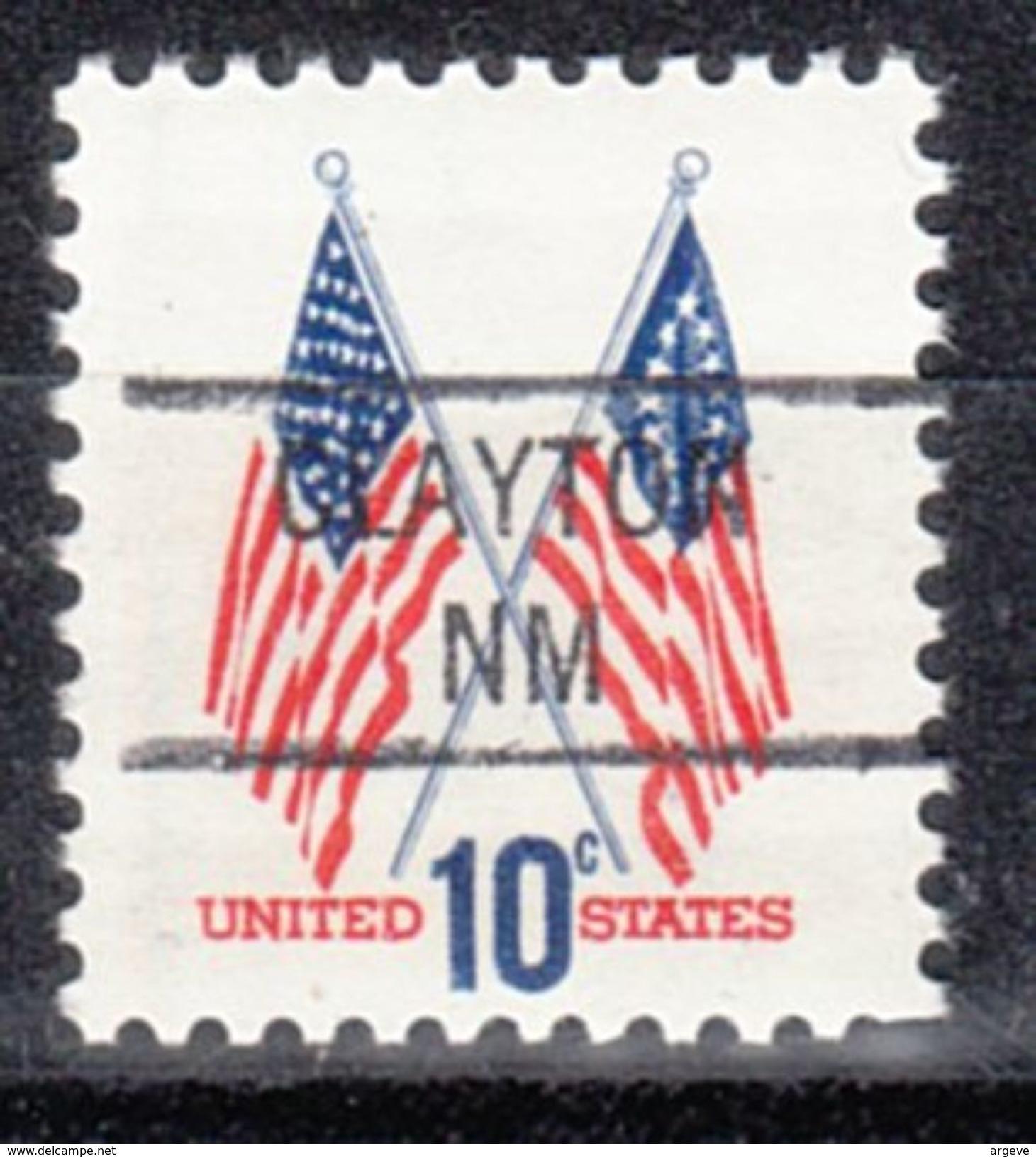 USA Precancel Vorausentwertungen Preo, Locals New Mexico, Clayton 841 - Vereinigte Staaten