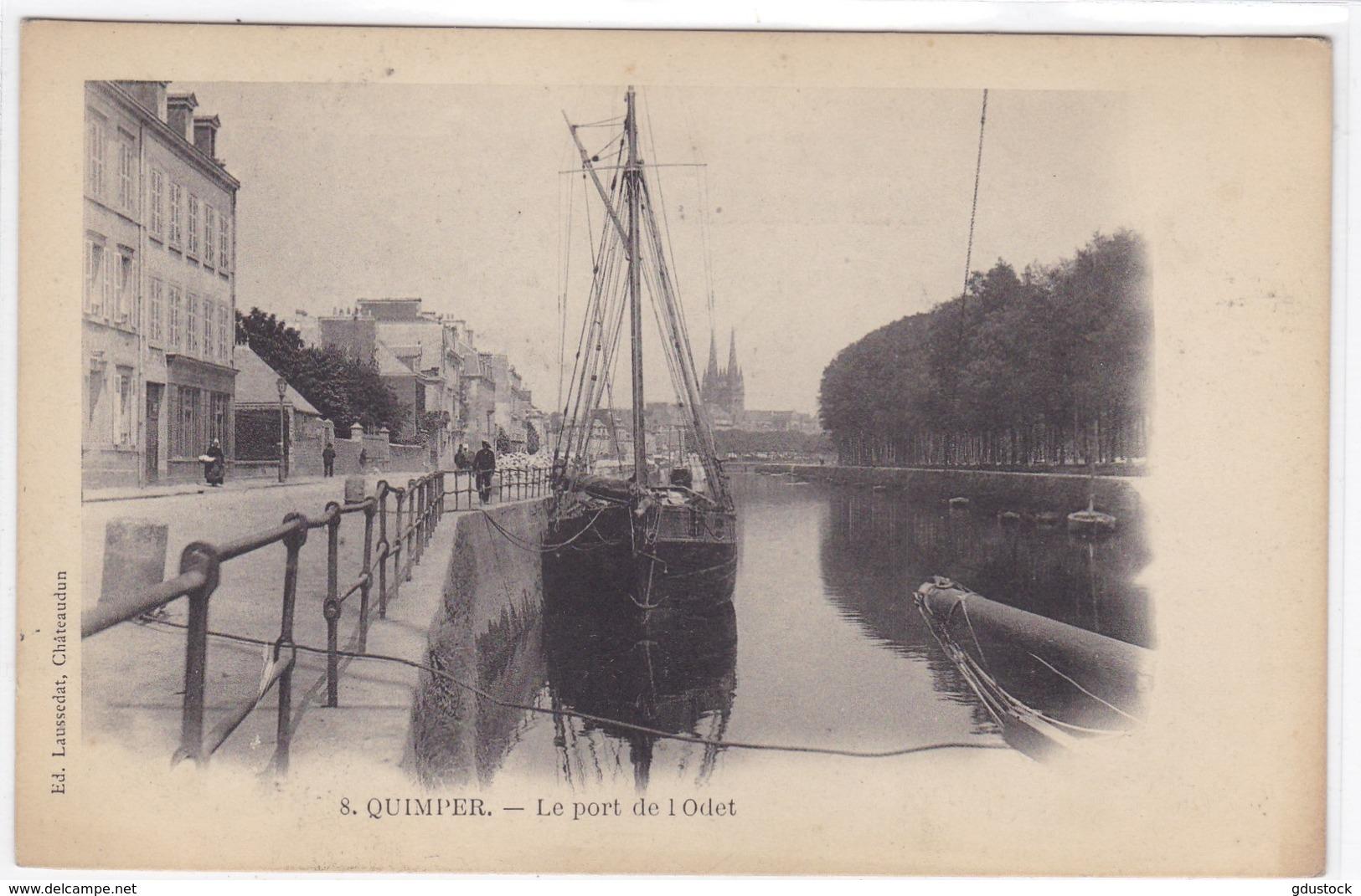 Finistère - Quimper - Le Port De L'Odet - Quimper