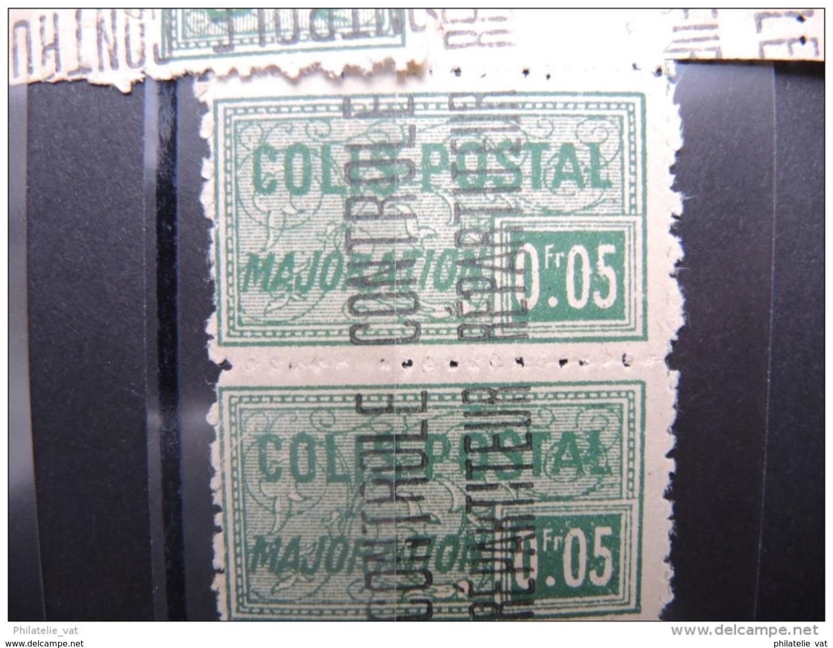 ALGERIE FRANCAISE - Superbe Lot De Colis Postaux - Luxes - 12 Plaquettes - Pas Courant Dans Cette Qualité - P16301 - Algérie (1924-1962)