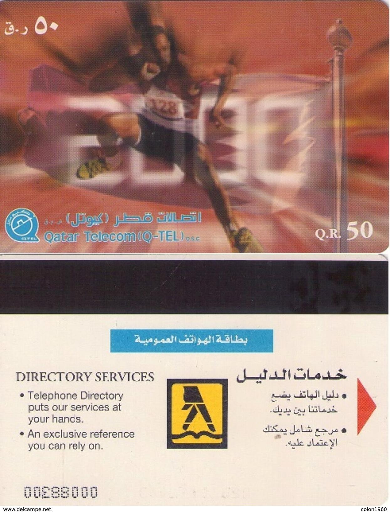 TARJETA TELEFONICA DE QATAR. (533) - Qatar