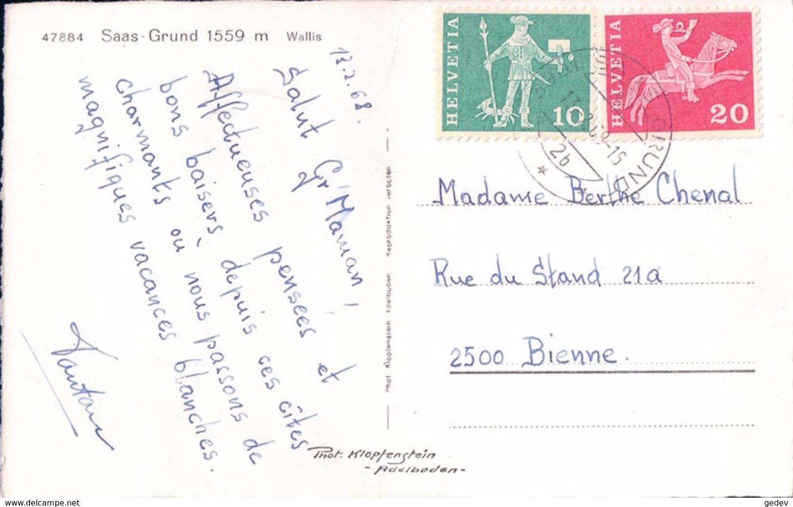 Saas-Grund (47884) - VS Valais