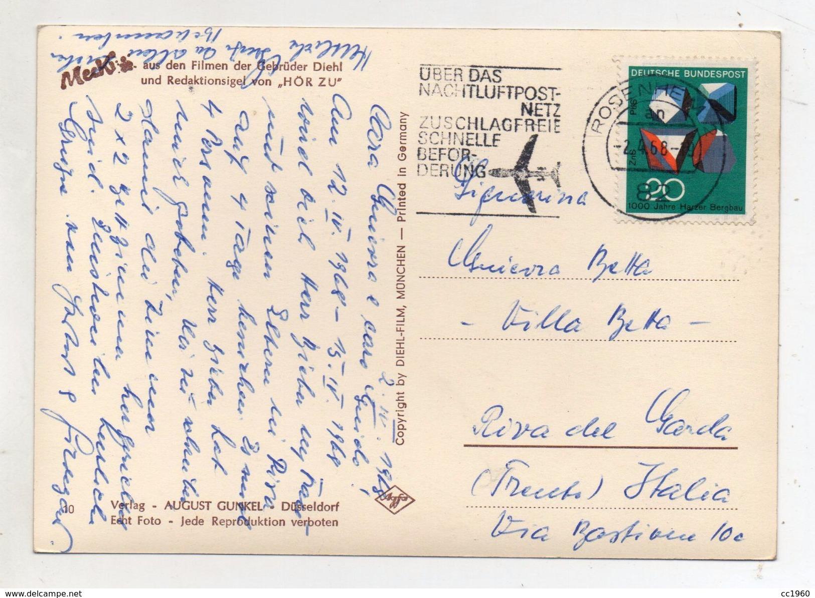 MECKI - Sag Du Zu Mir ! - Viaggiata Nel 1968 - Cartolina Nr. 10 - (FDC6513) - Mecki