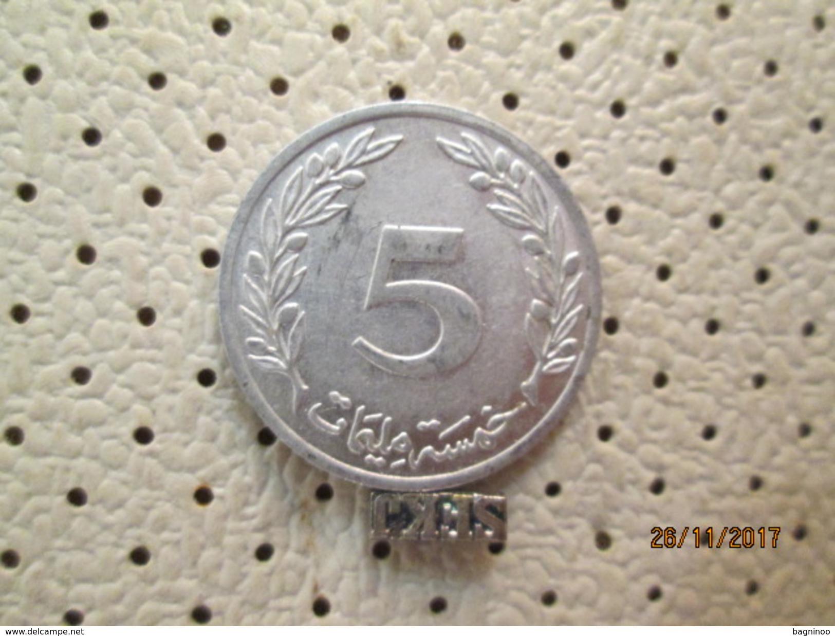 TUNISIA 5 Piastres 1960 # 5 - Tunisia