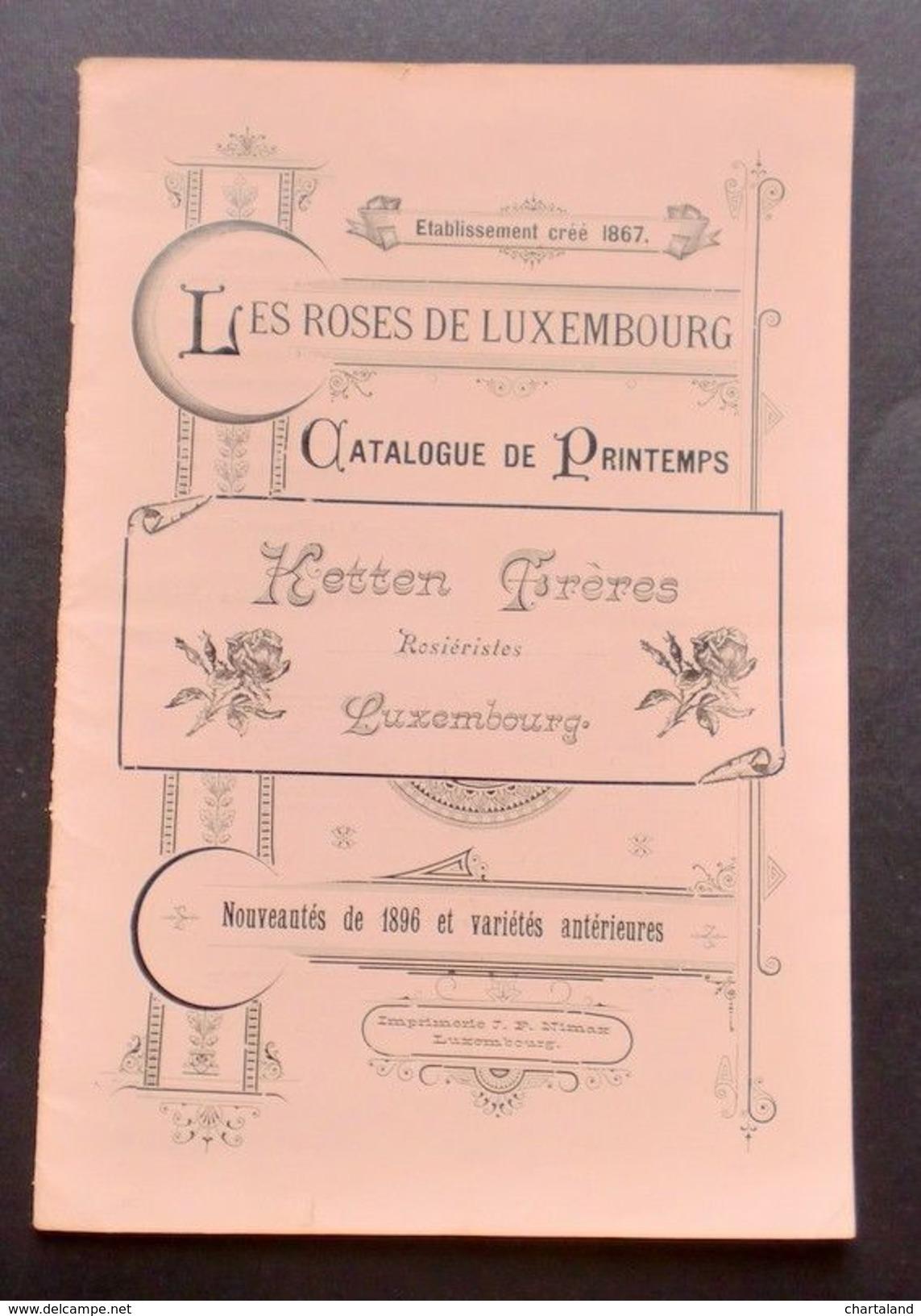 Agraria - Catalogo Rose - 1896 - Libri, Riviste, Fumetti