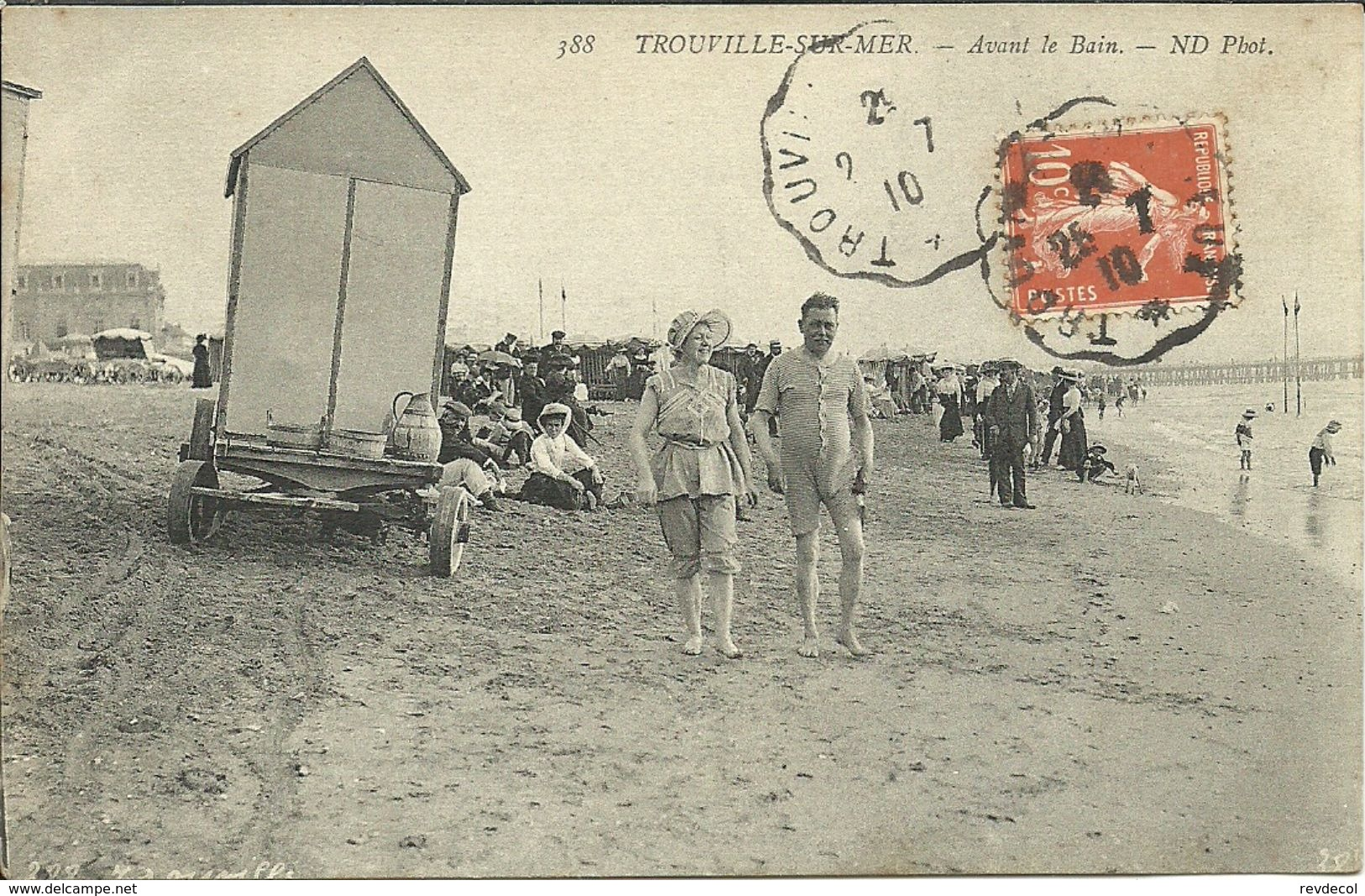 TROUVILLE -- Avant Le Bain                              -- ND 388 - Trouville