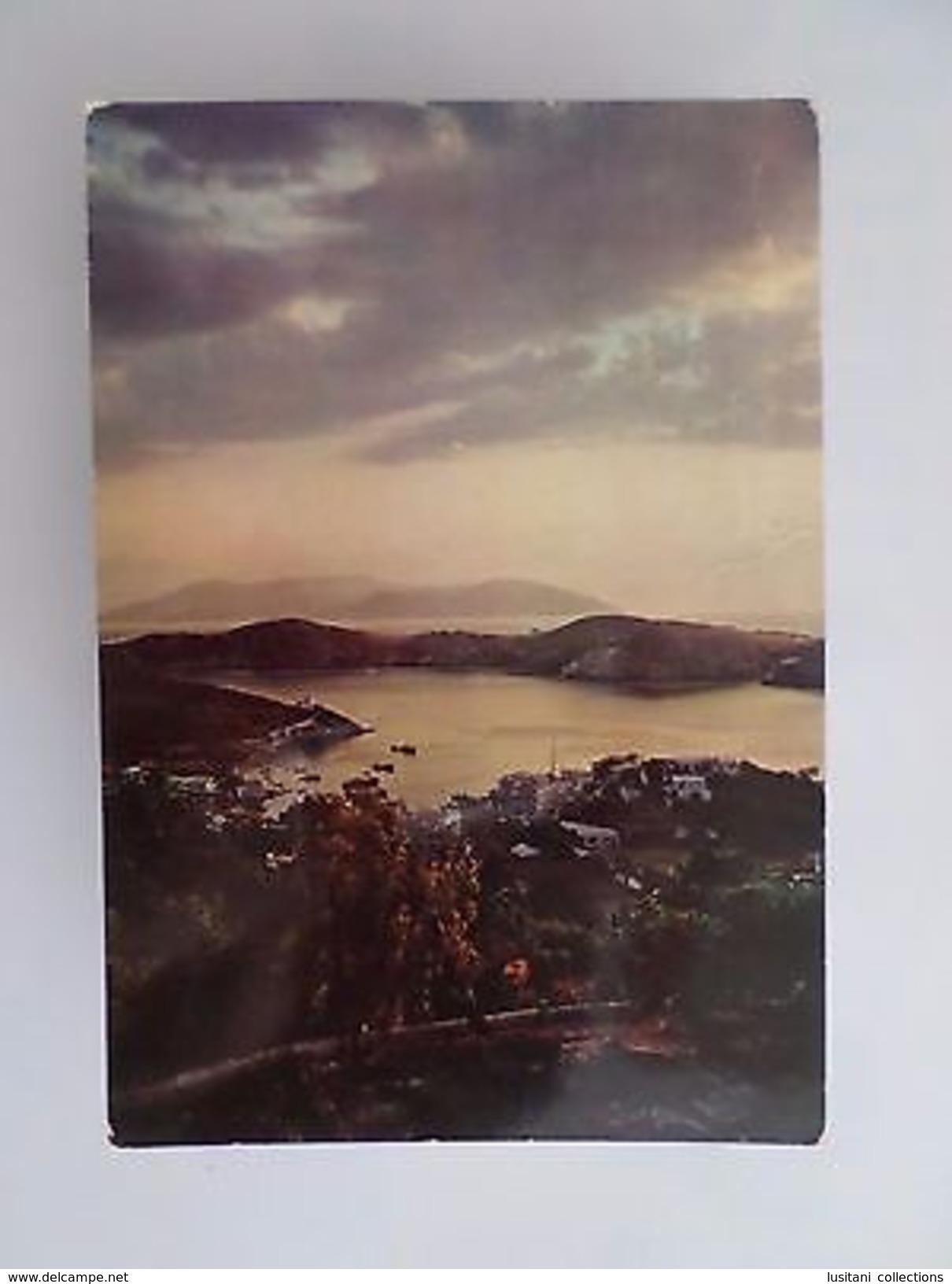 GREECE IOS SUNSET COUCHER DU SOLEIL 1960 YEARS POSTCARD Z1 - Postcards