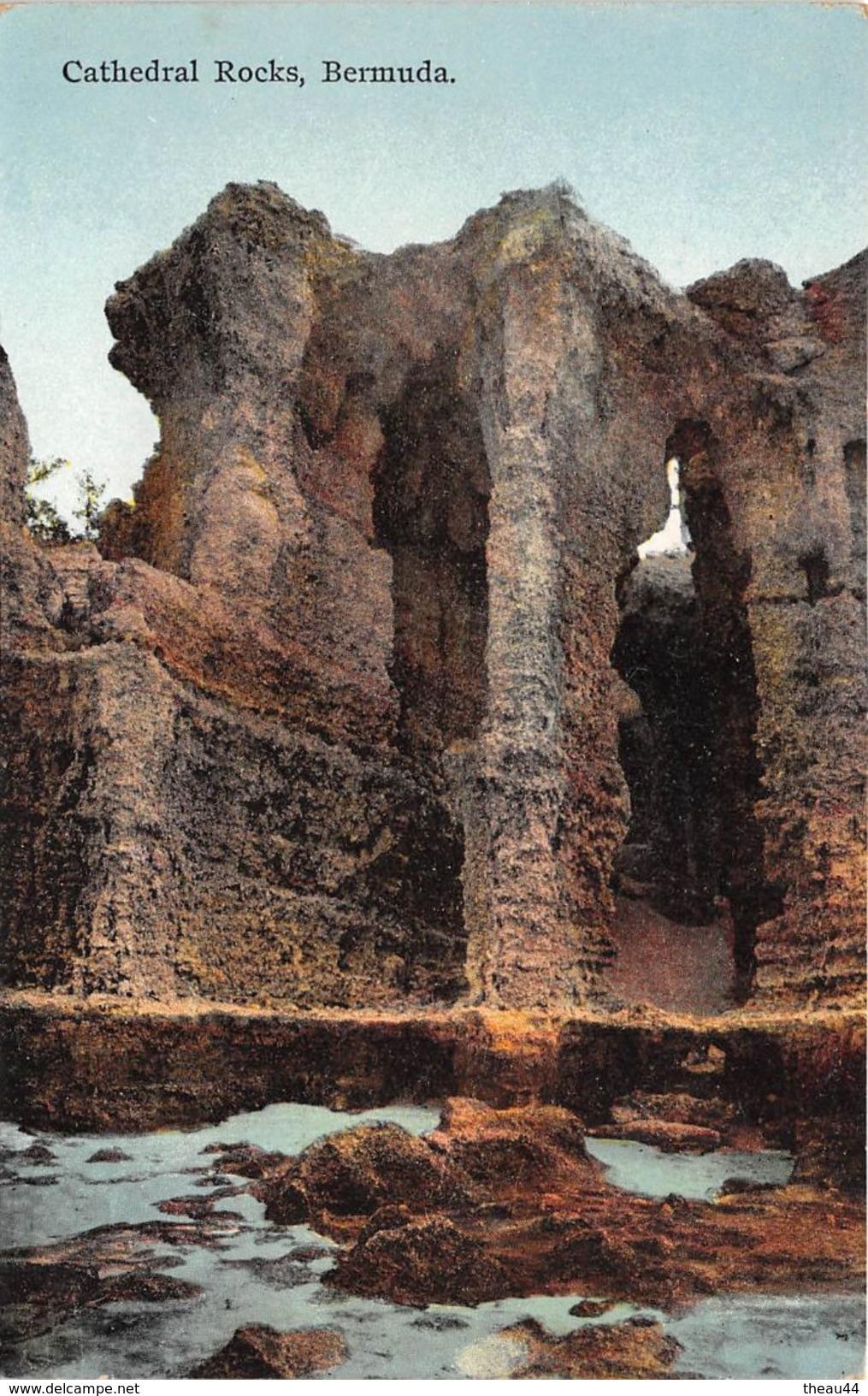 ¤¤  -  BERMUDES   -  Cathédrale Rocks BERMUDA  -  ¤¤ - Bermudes