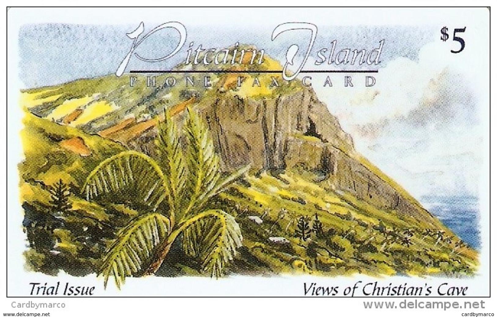 *PITCAIRN ISLAND* - Scheda Usata - Pitcairn Islands