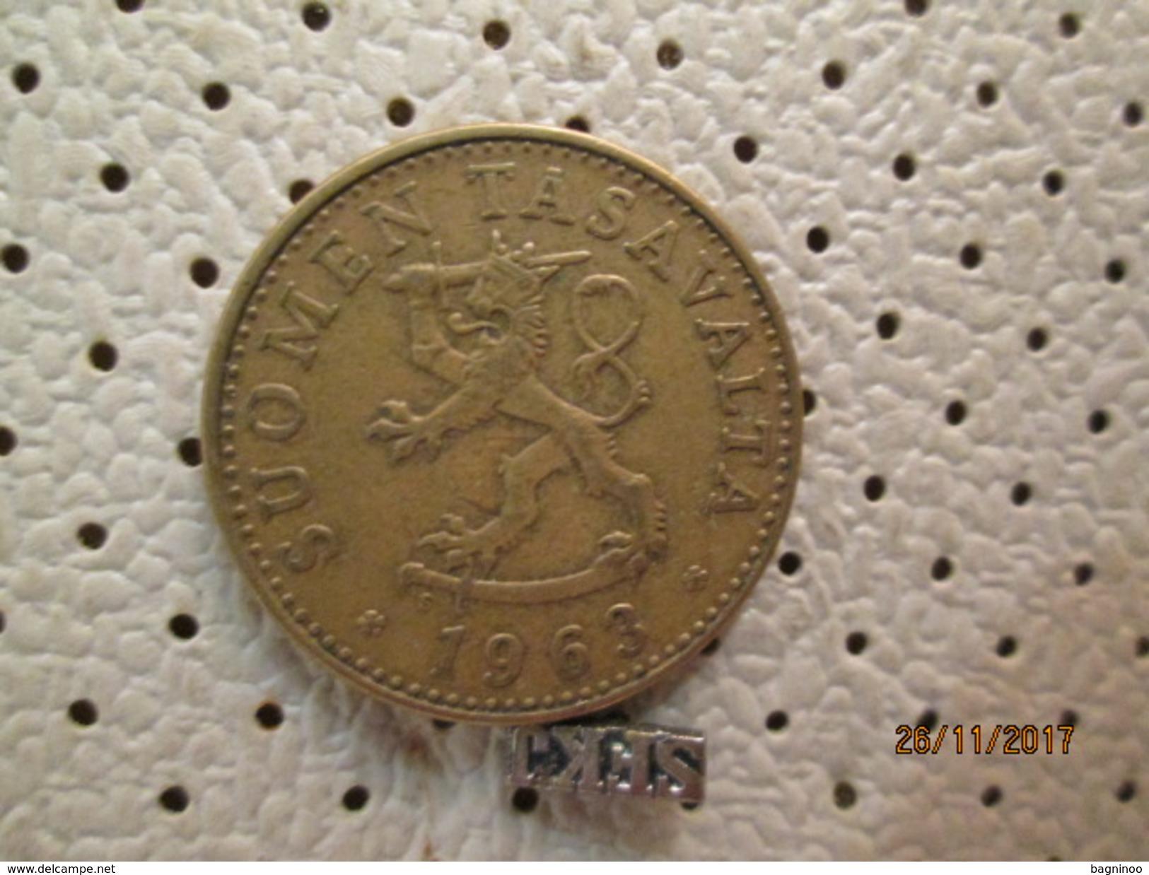 FINLAND 50 Pennia 1963 # 5 - Finland