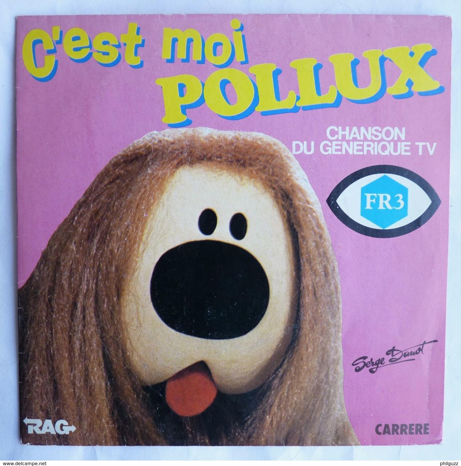 Disque Vinyle 45T C'EST MOI POLLUX - MANEGE ENCHANTE FR3 - S DANOT 1983 - Disques & CD