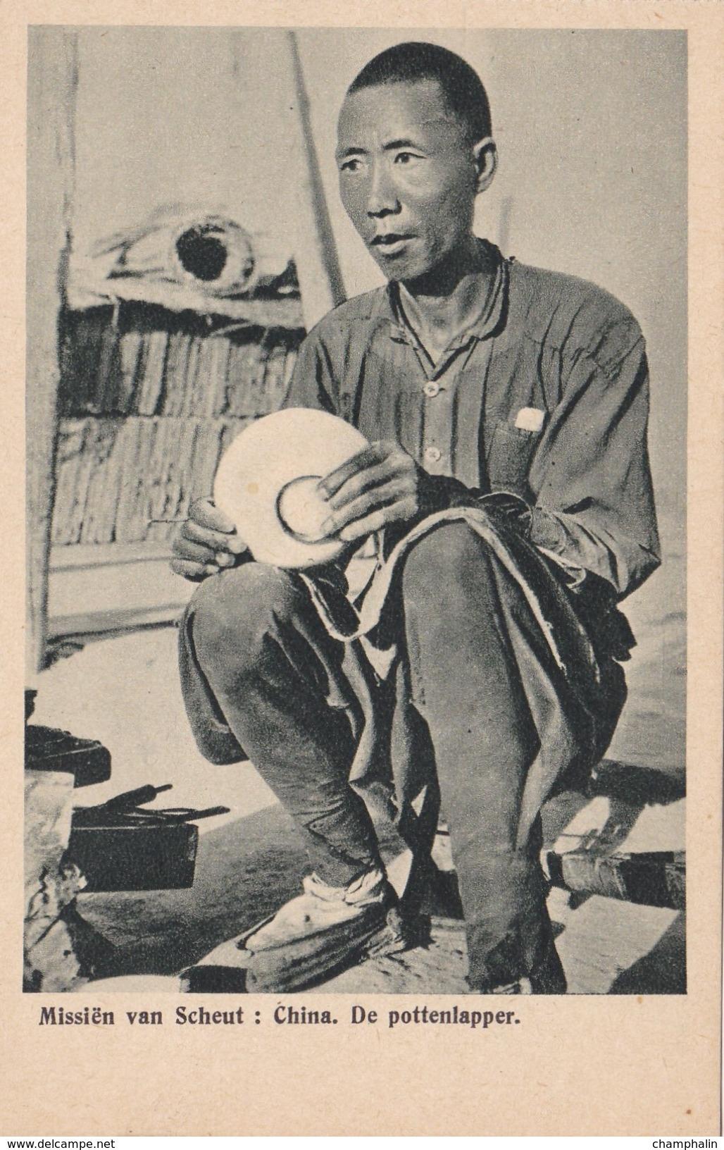 Chine - China - Missiën Van Scheut - De Pottenlapper - Potier - Mission - Chine