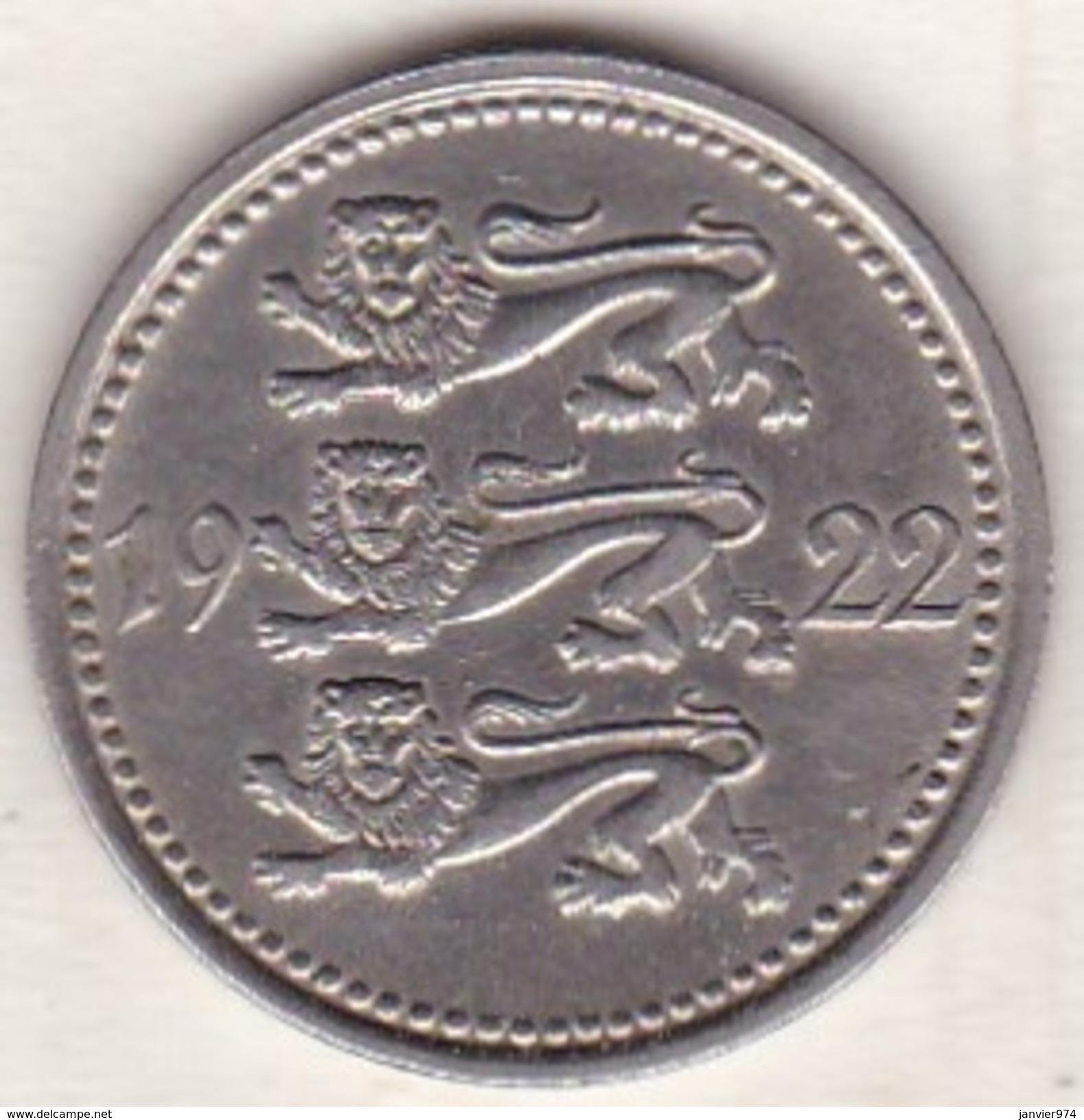 Estonie . 5 Marka 1922 .KM# 3 - Estonie