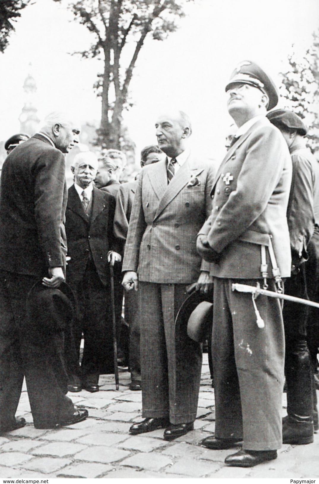 WW2 - LVF - Fernand De Brinon Et Le Ministre Allemand Schleier - 1939-45