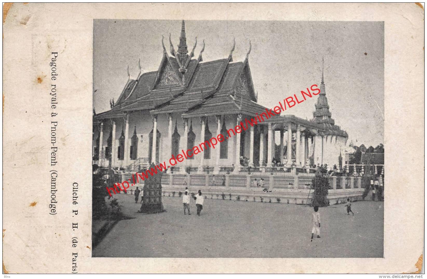 Pagode Royale à Pnom-Penh - Cambodge - Cambodge