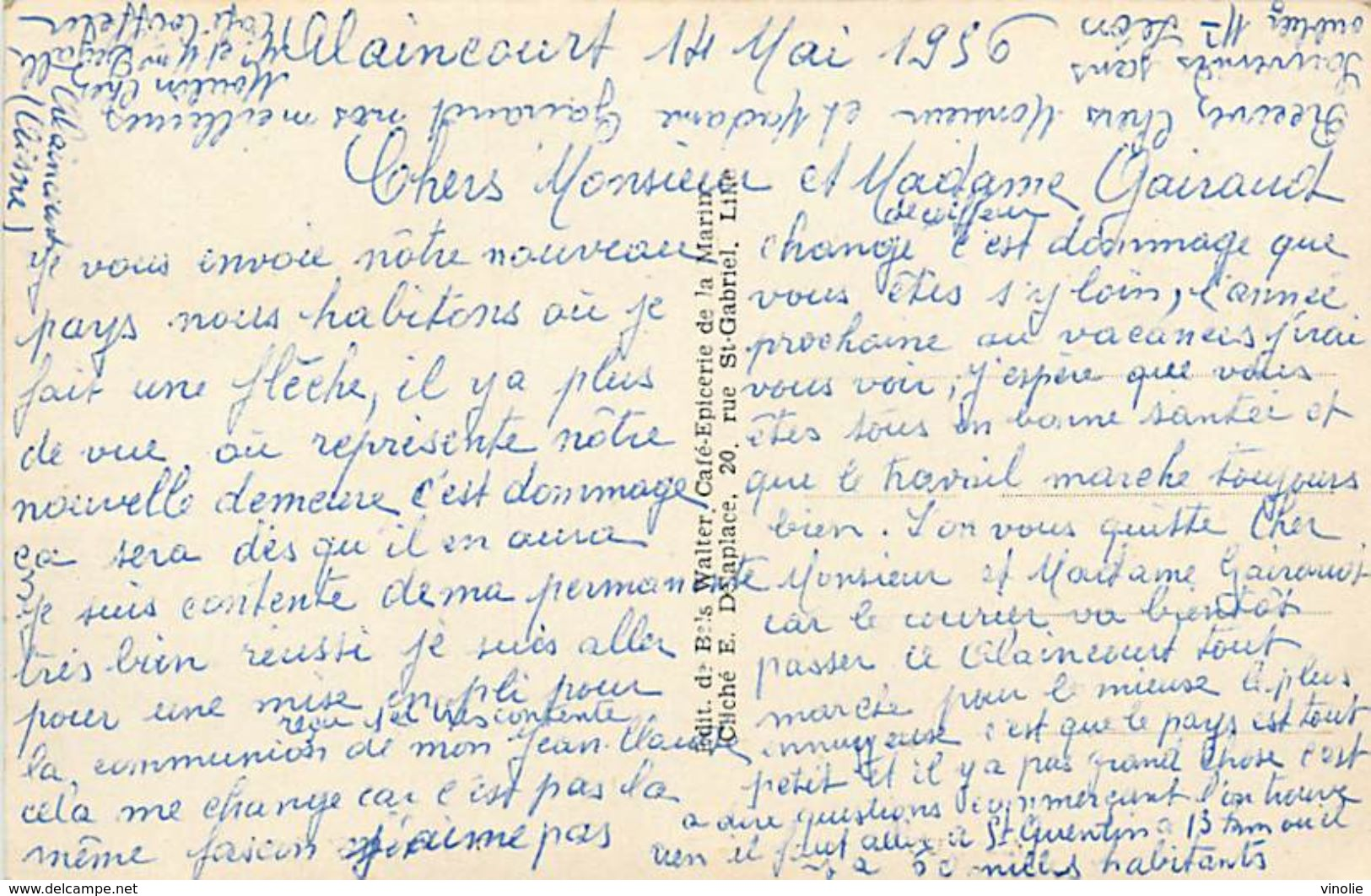 PIE 17-Tx-9402 :  ALAINCOURT  RUE DU GENERAL DE LATTRE DE TASSIGNY - Frankreich