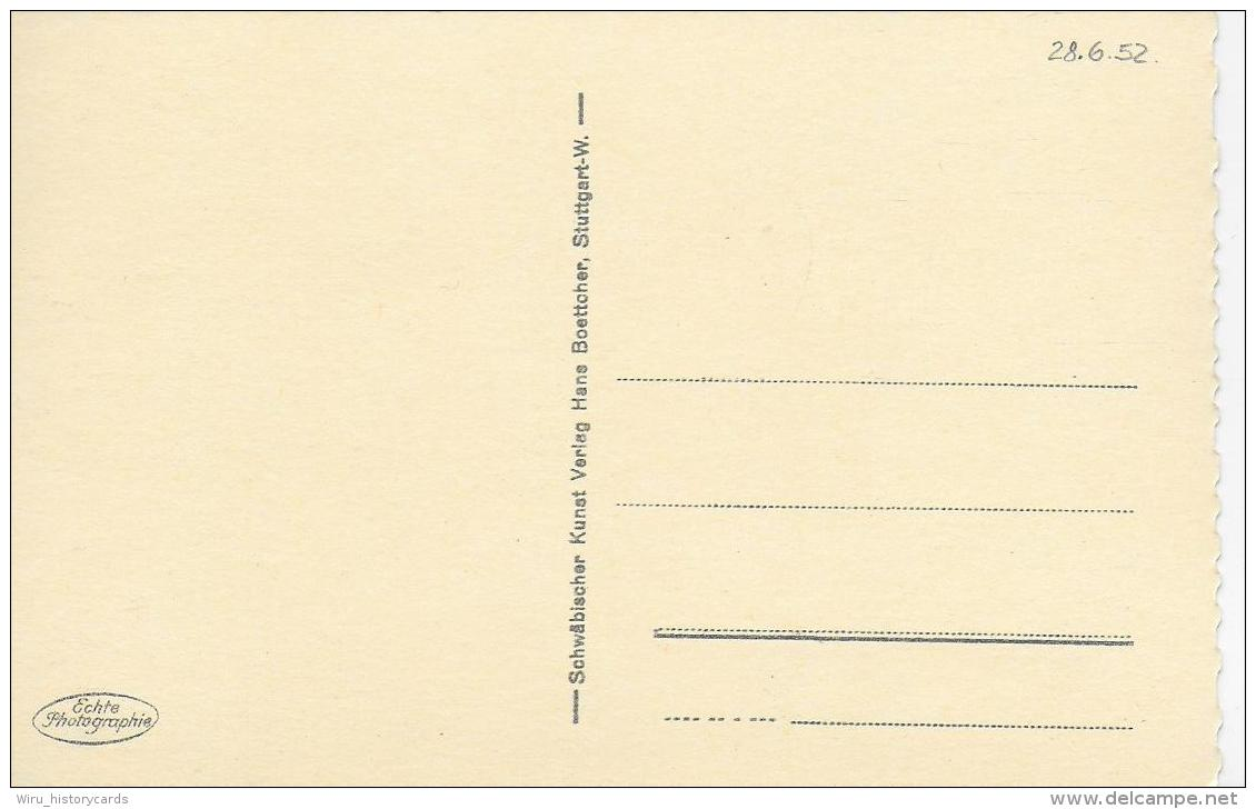 AK 0799  Ulm An Der Donau ( Walfischgasse ) - Verlag Boettcher Um 1950 - Ulm