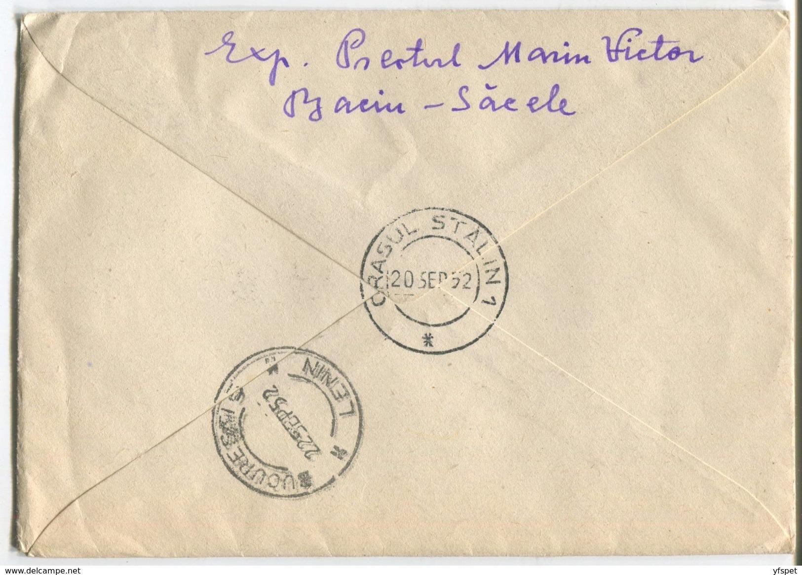 N.V.Gogol - Cover, 1952 - Postal Stationery