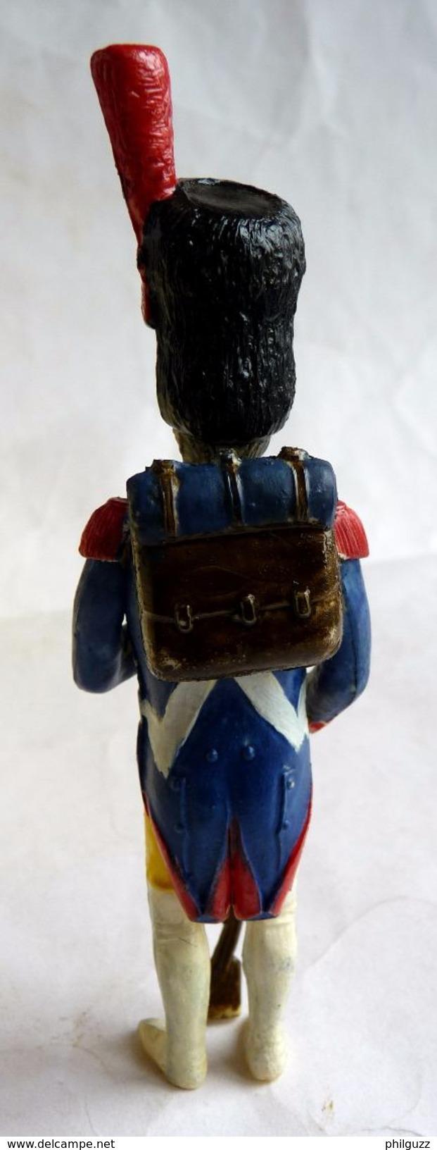 RARE MAQUETTE AIGLON Montée Et Peinte Avec BOITE Et NOTICE - FIGURINE ARMEE FRANCAISE 1ER EMPIRE - Figurines