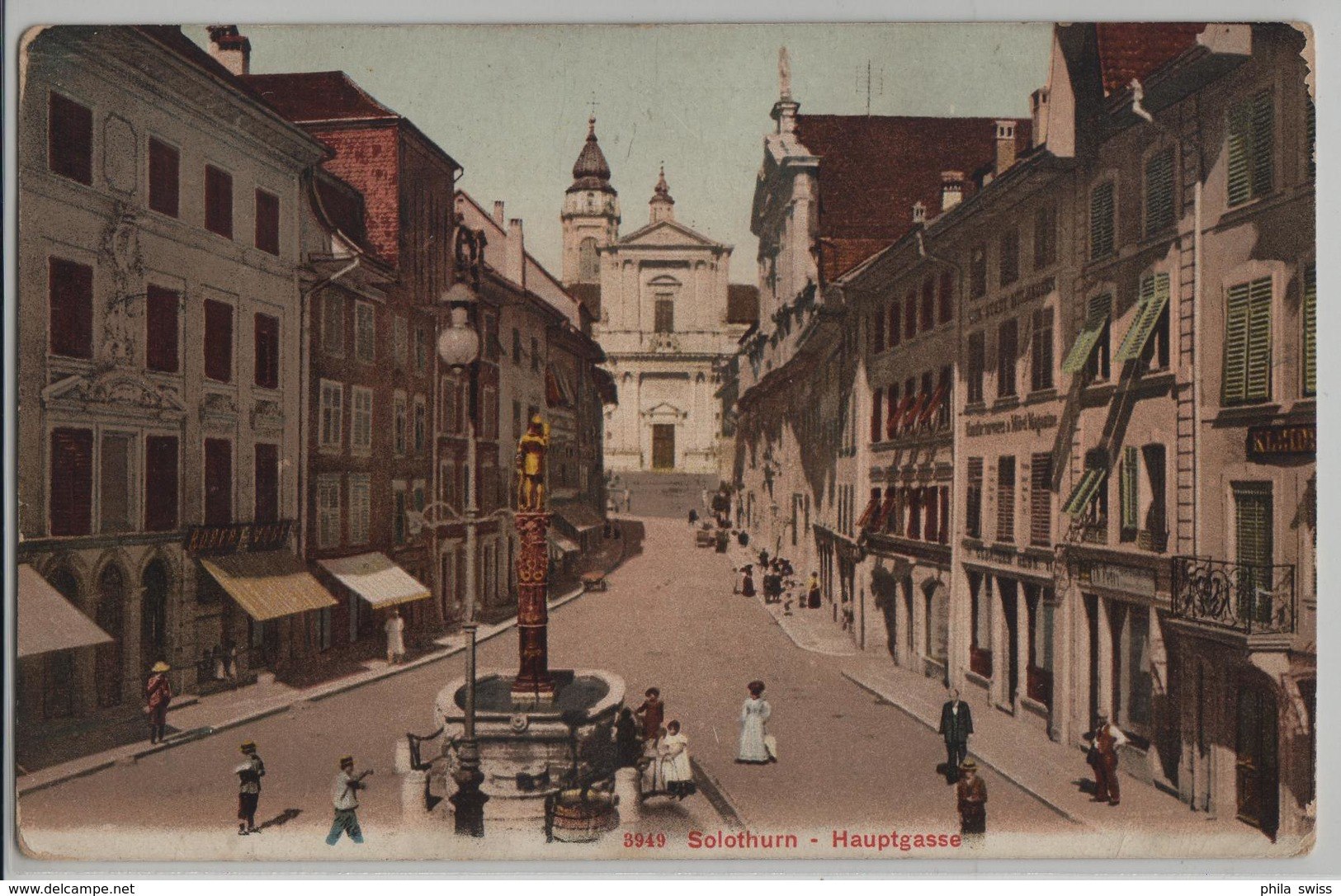 Solothurn - Hauptgasse - Animee - Photoglob - SO Soleure