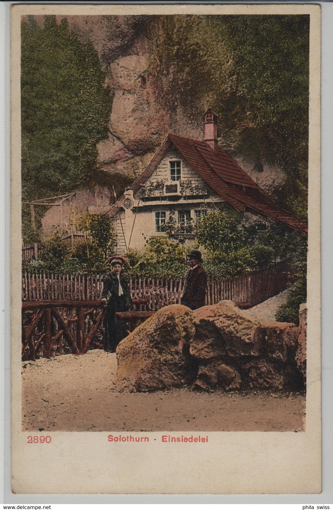 Solothurn - Einsiedelei - Animee - SO Soleure