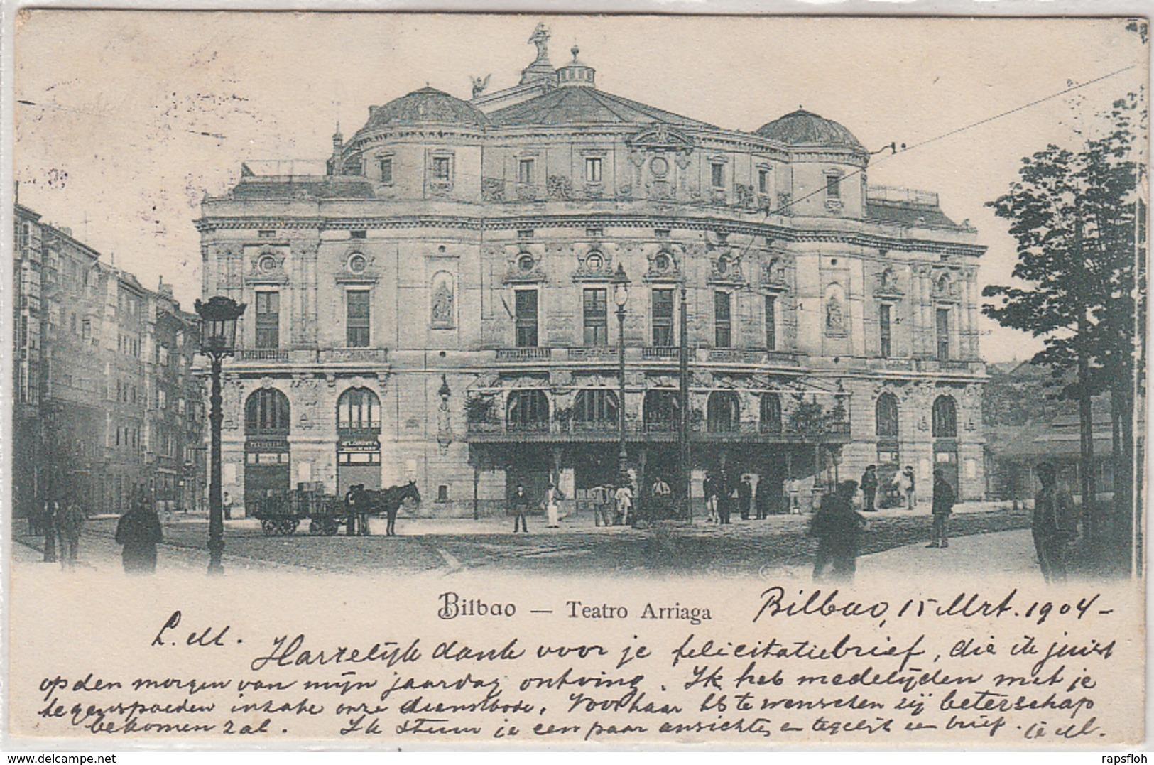Bilbao Teatro Arriaga 1904 - Vizcaya (Bilbao)