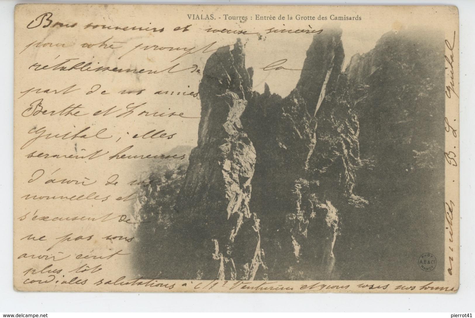 VIALAS - Tourres - Entrée De La Grotte Des Camisards - Autres Communes
