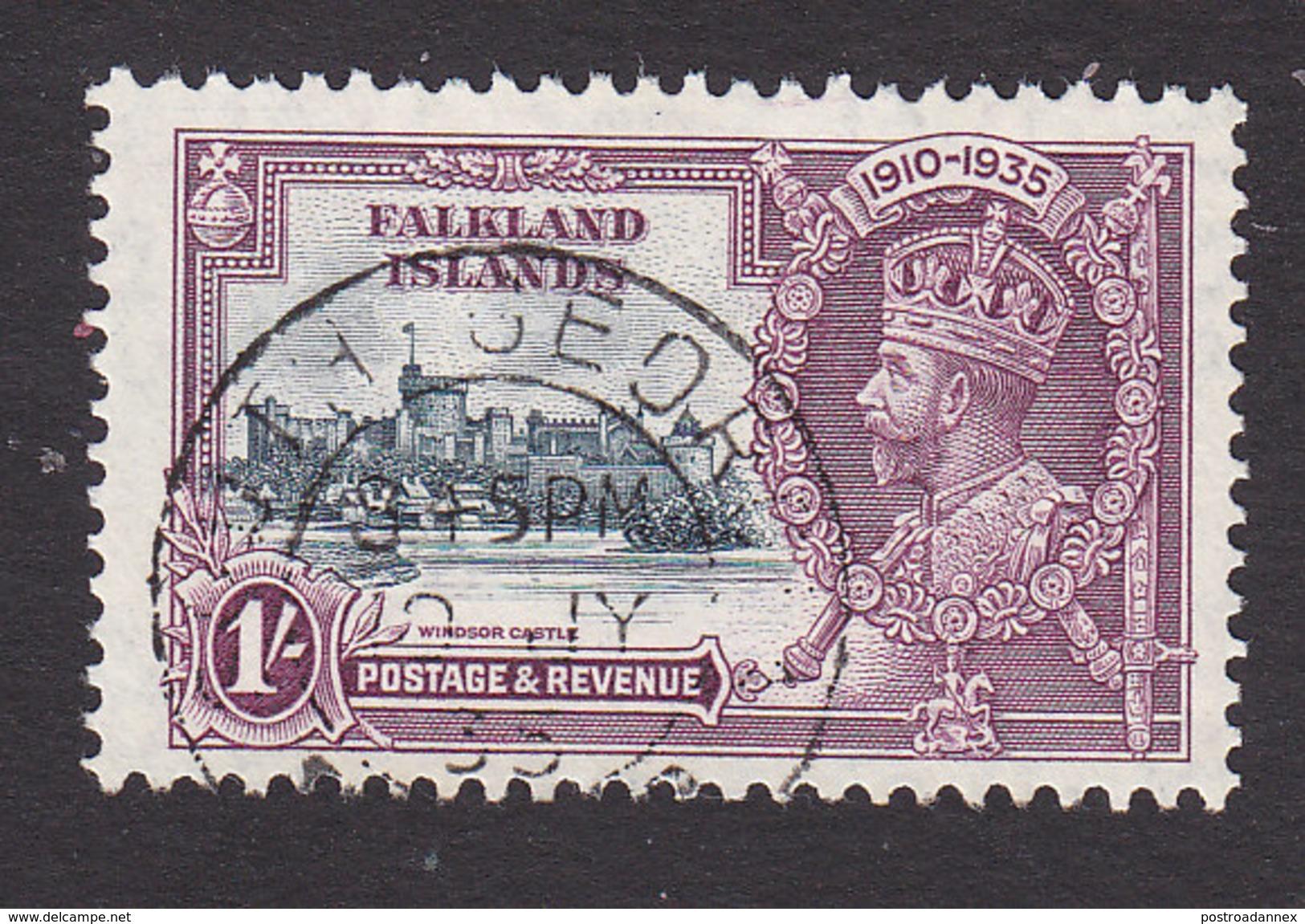 Falkland Islands, Scott #80, Used, Silver Jubilee, Issued 1935 - Falkland Islands