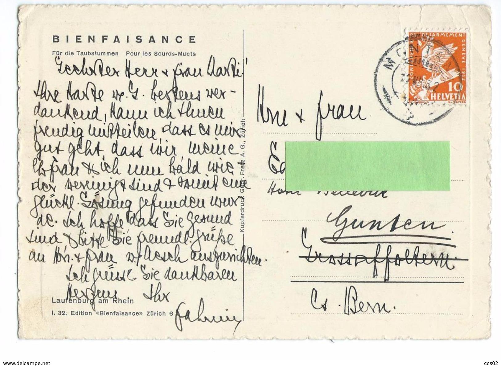 Laufenburg Am Rhein 1932 - AG Argovie