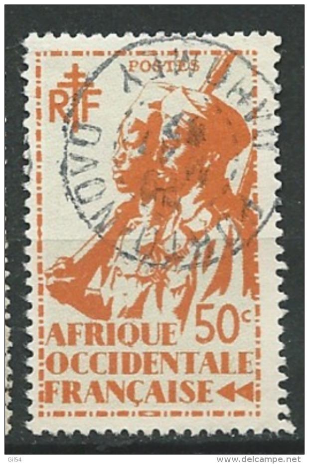 AOF - Yvert N° 7 Oblitéré   CAD Porto Novo Dahomey   Ah 22305 - Gebraucht